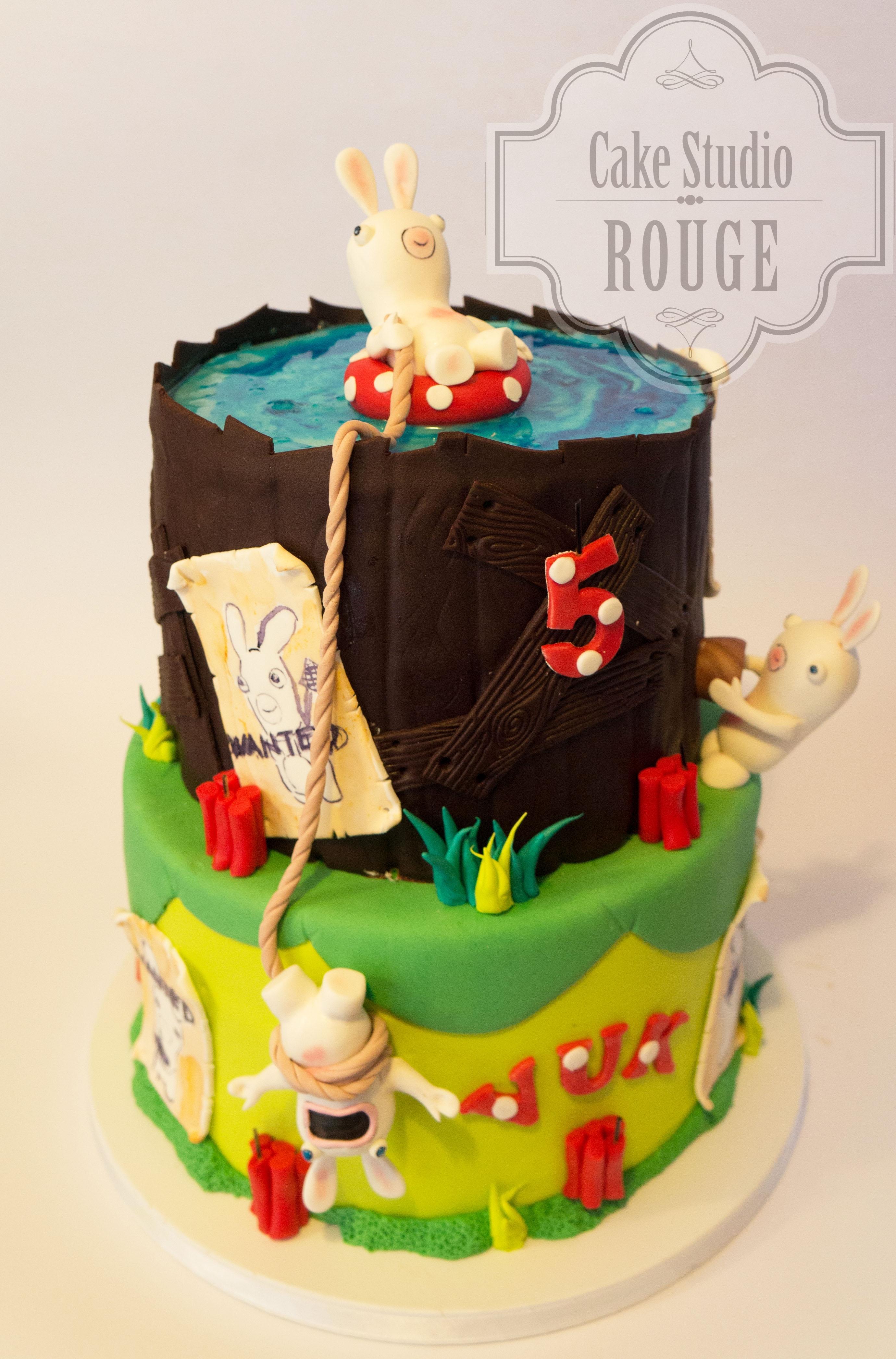 Rabbids Invasion Cake Cakecentral Com