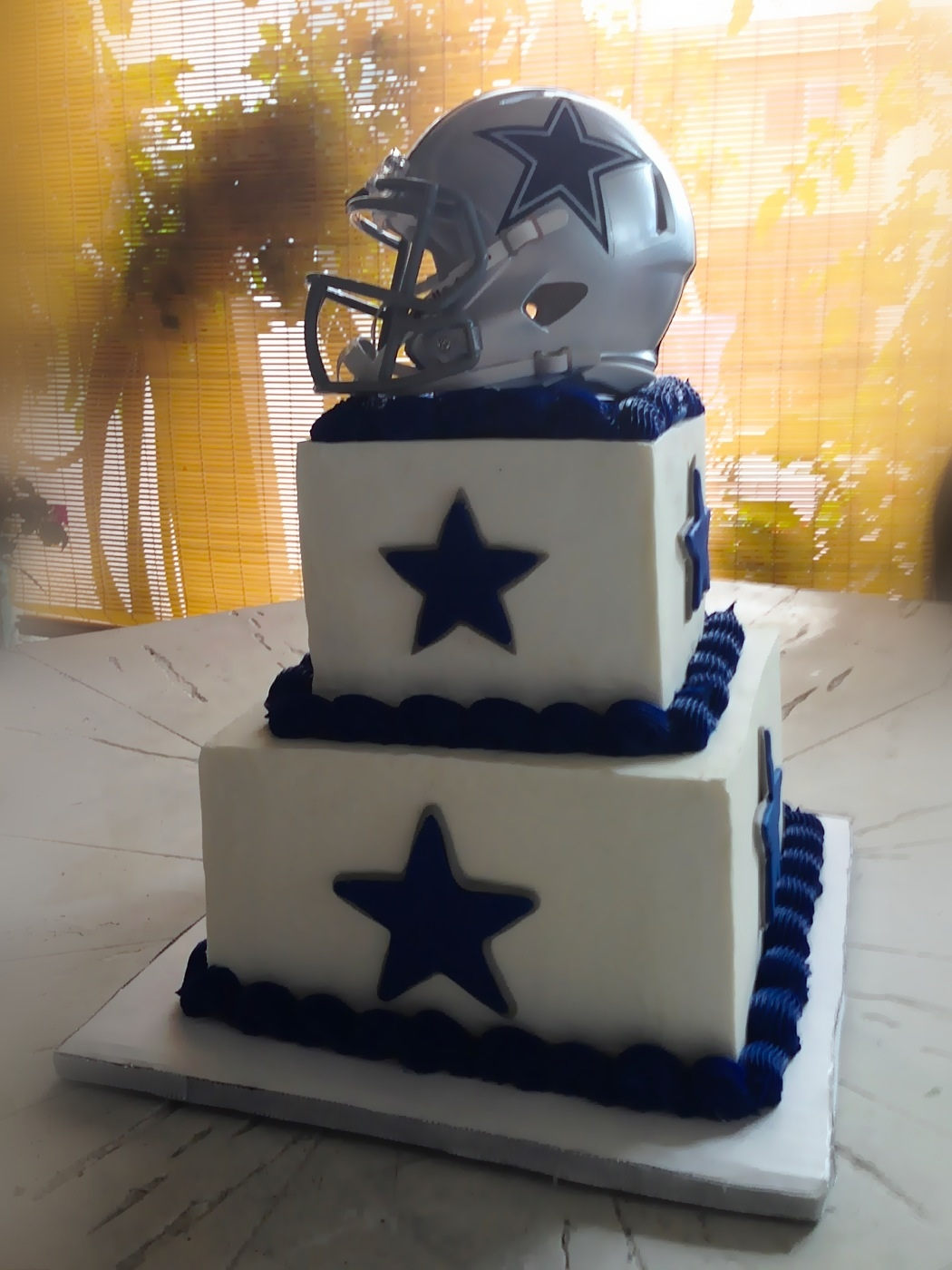 Cowboys Cake Football Cake Dallas Cowboys Cake