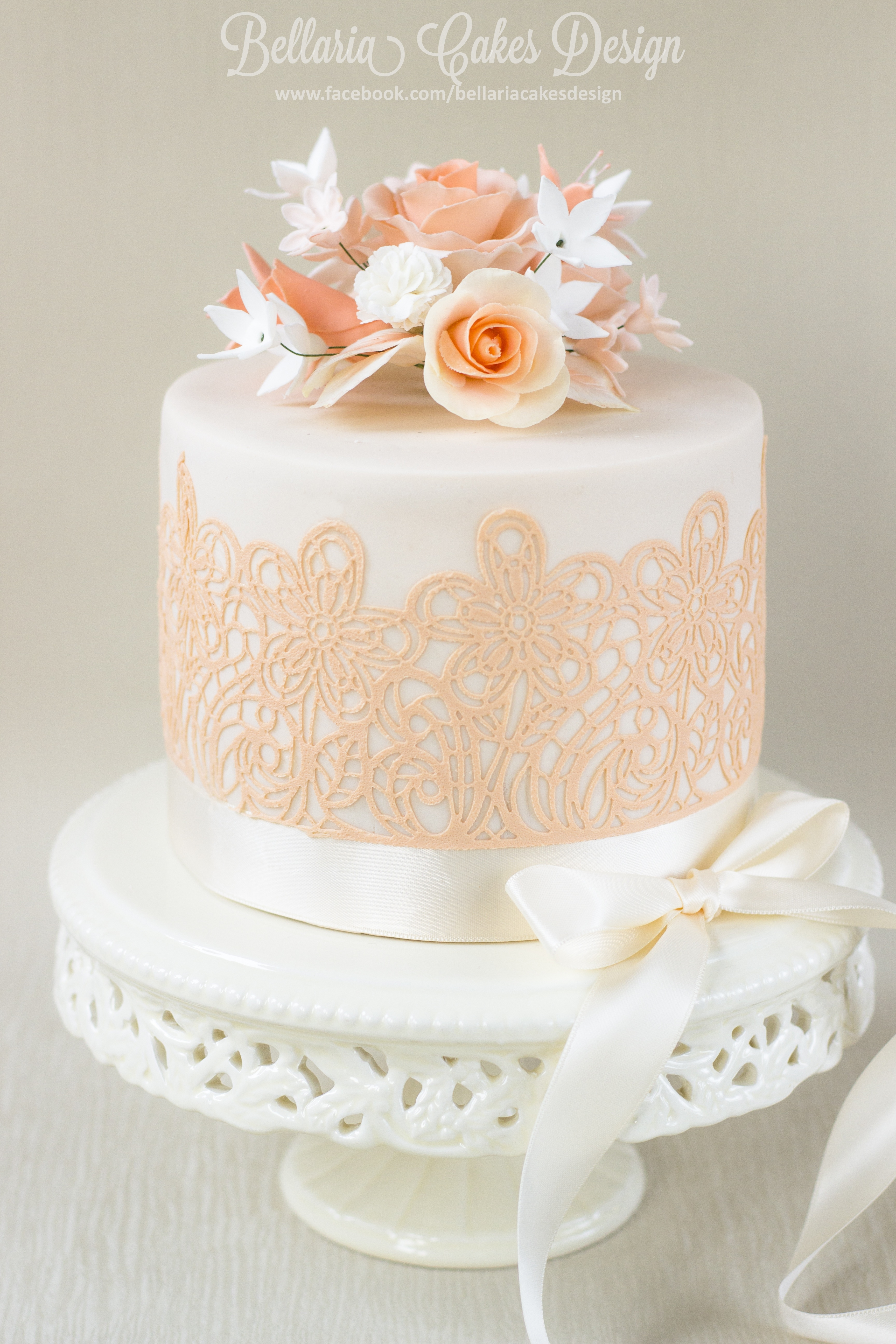 99Th Flower Birthday Cake For A Beautiful Lady ...