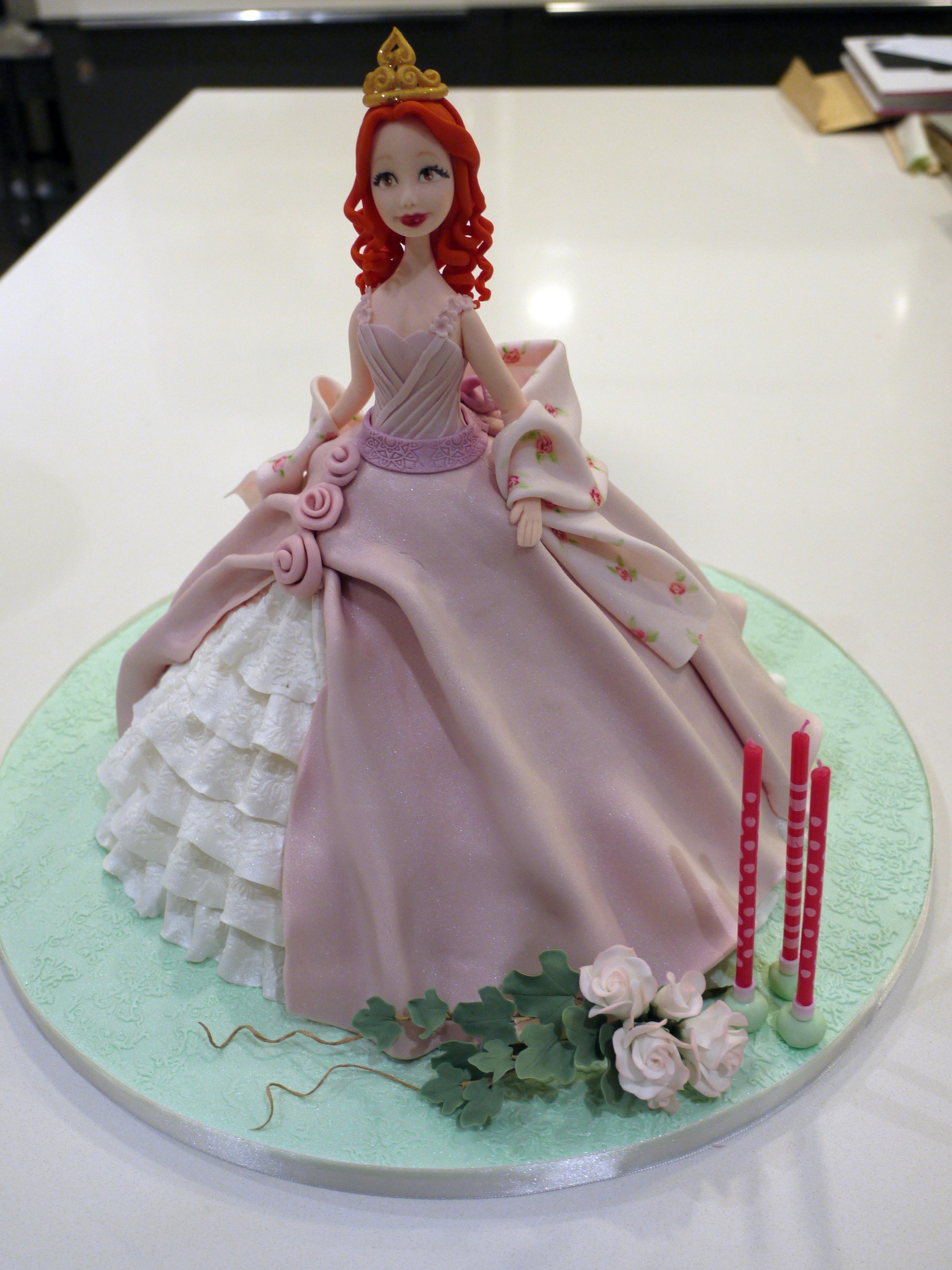Princess Cake - CakeCentral.com