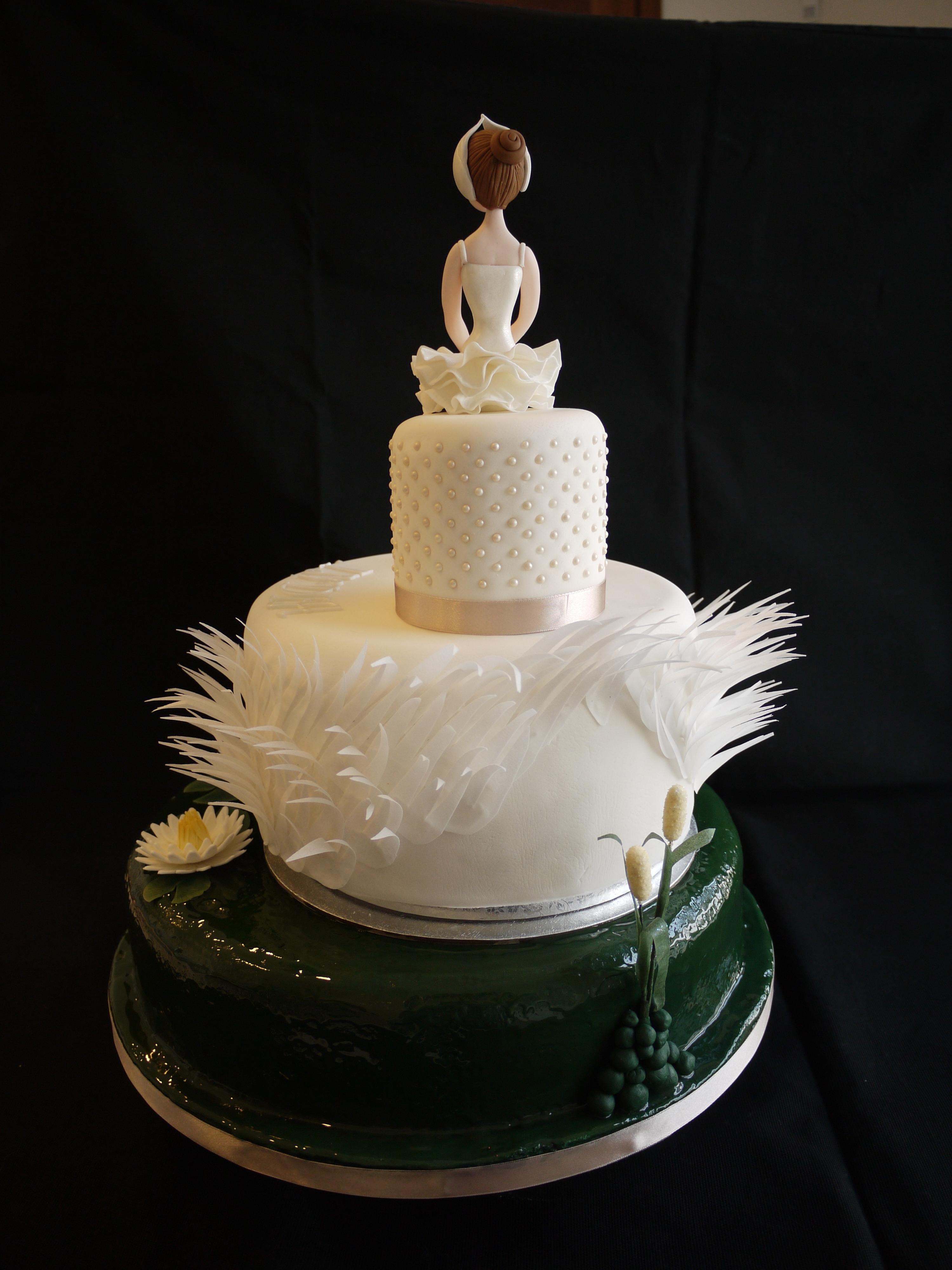 Ballerina Cake Swan Lake Cakecentral Com