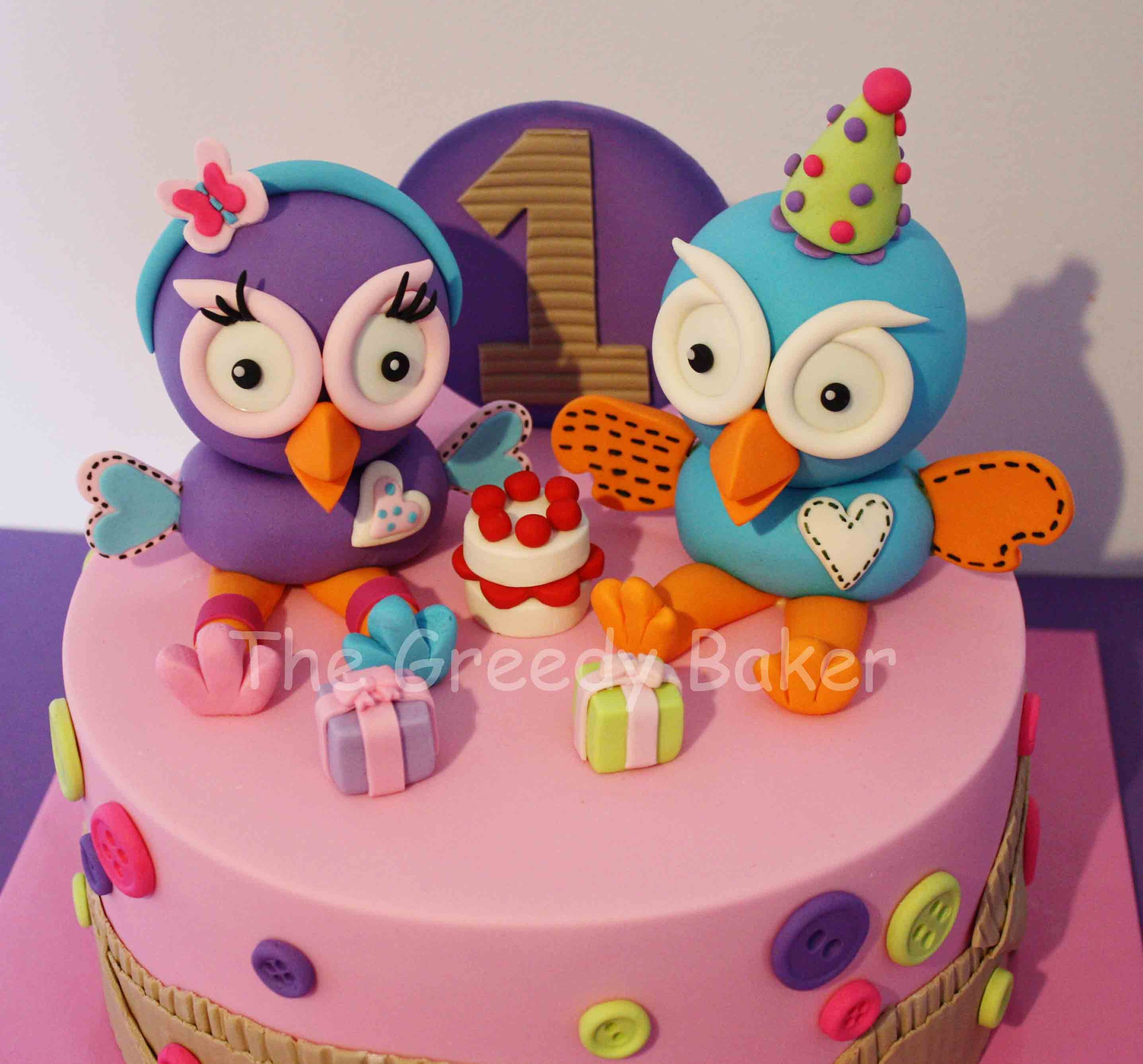 Hoot Amp Hootabelle Cake All Handcrafted I Have Seen This