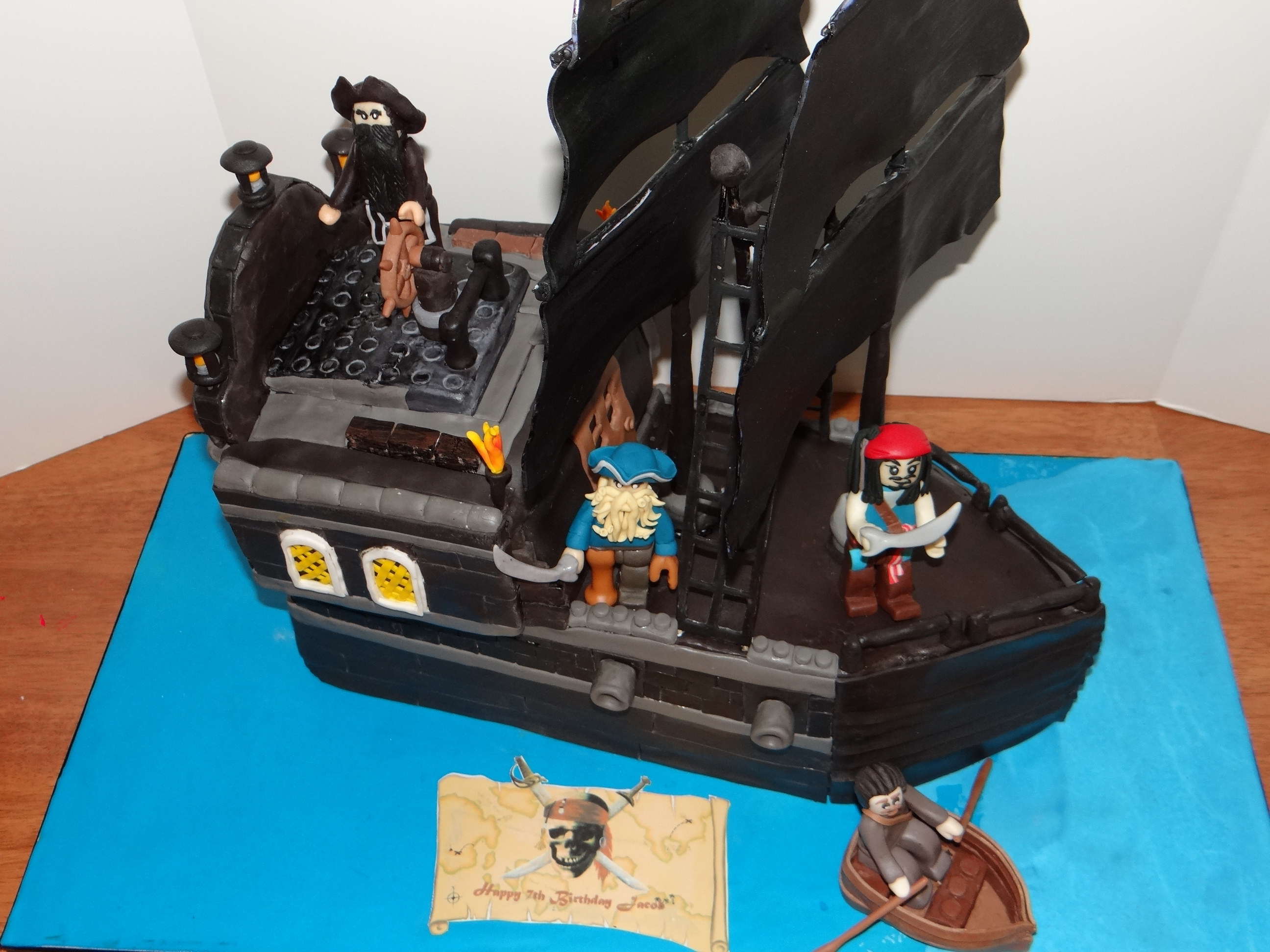 Black Pearl Lego Cakecentral Com