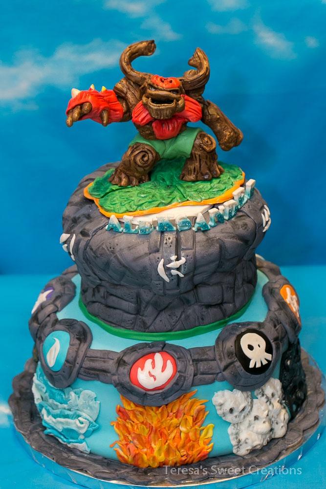 Skylanders Giants Birthday Cake