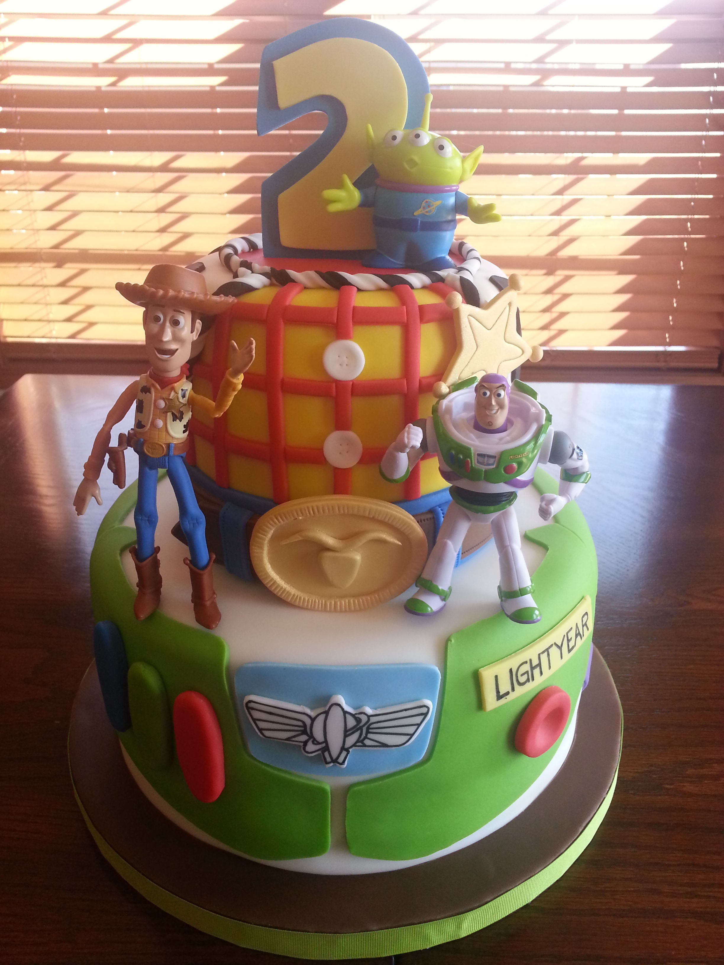 Toy Story Cake Woodybuzz Lightyear Cake Cakecentral Com