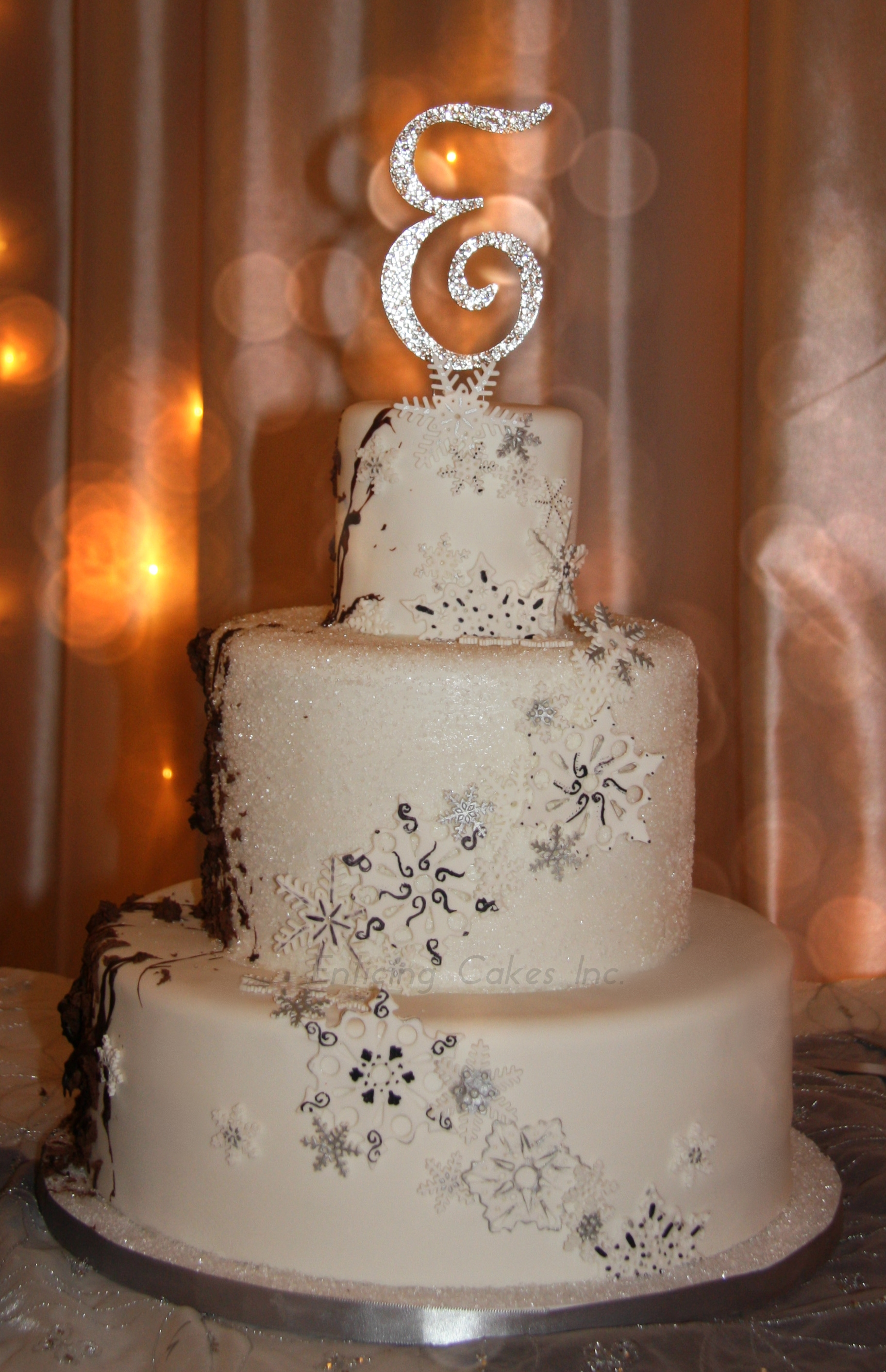 His Amp Hers Wedding Cakes Cakecentral Com