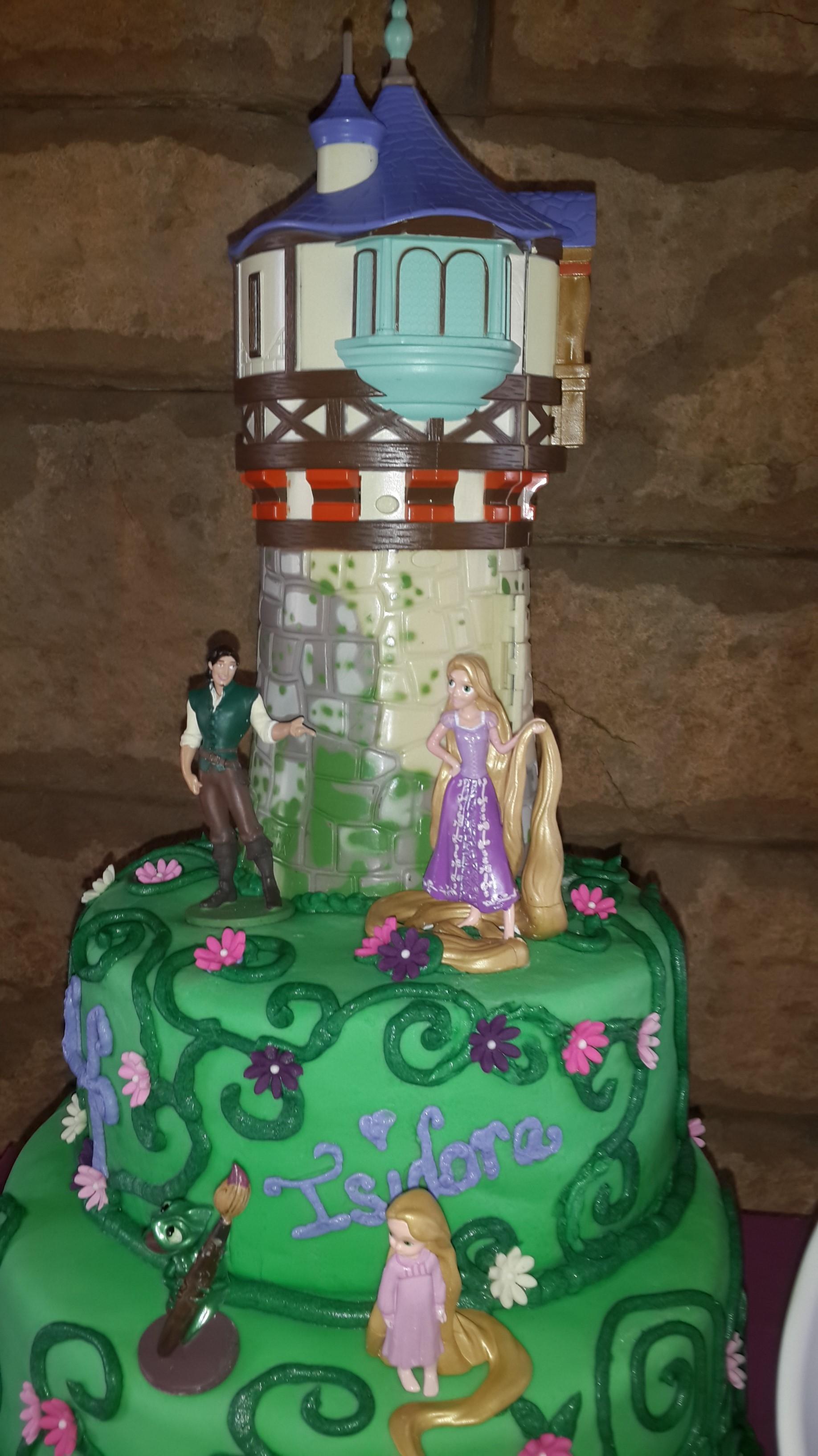 Rapunzel Birthday Cake Cakecentral Com