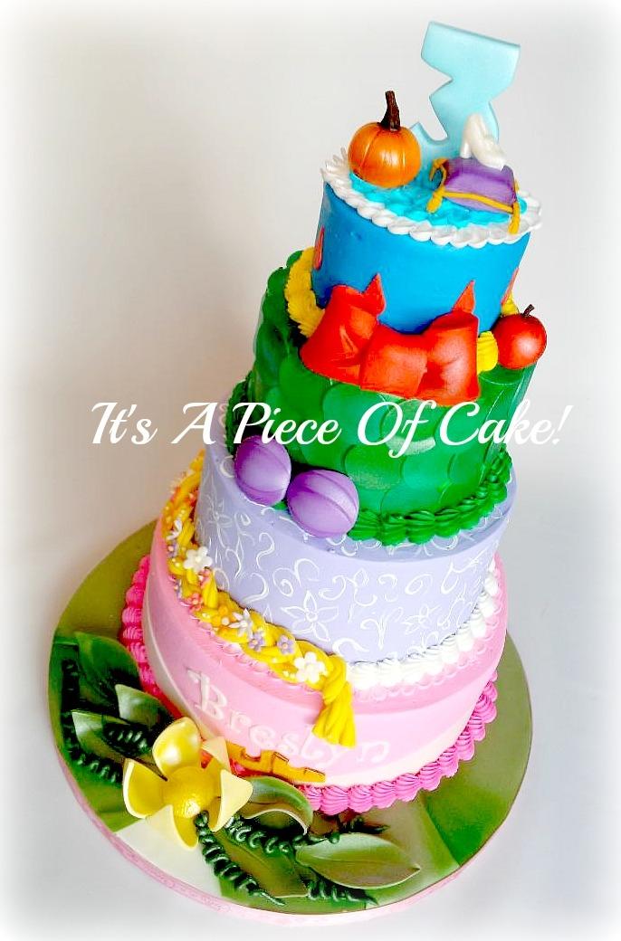 Disney Princess Themed Cake Cakecentral Com