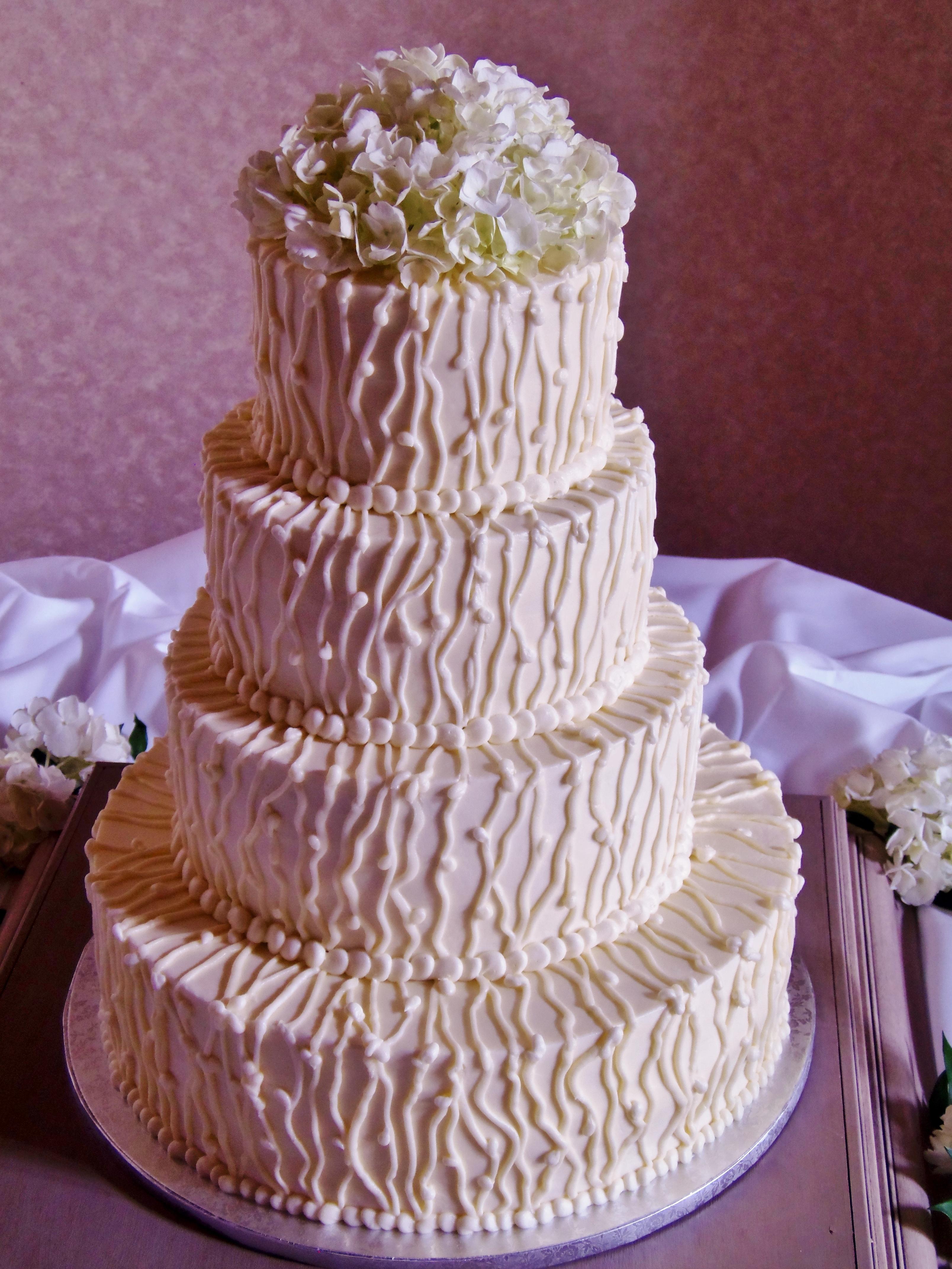 Buttercream Wedding Cakes Cakecentral Com