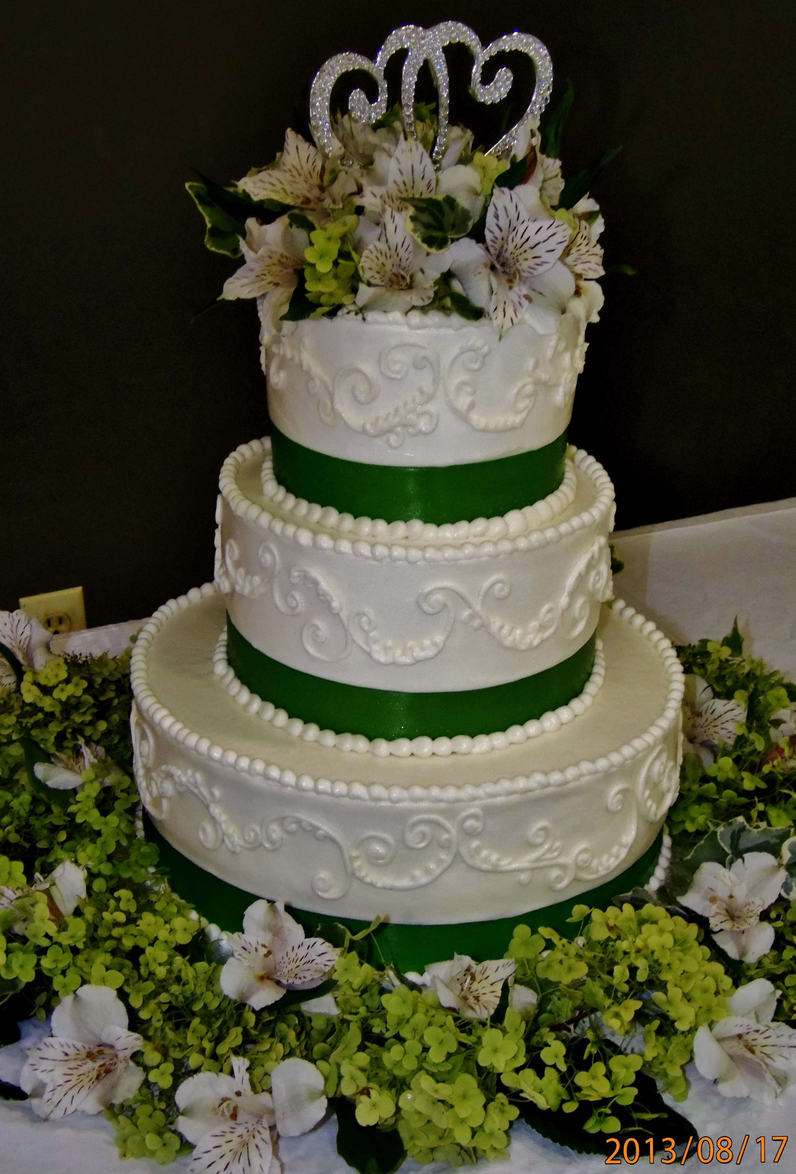 Buttercream Wedding Cakes CakeCentral