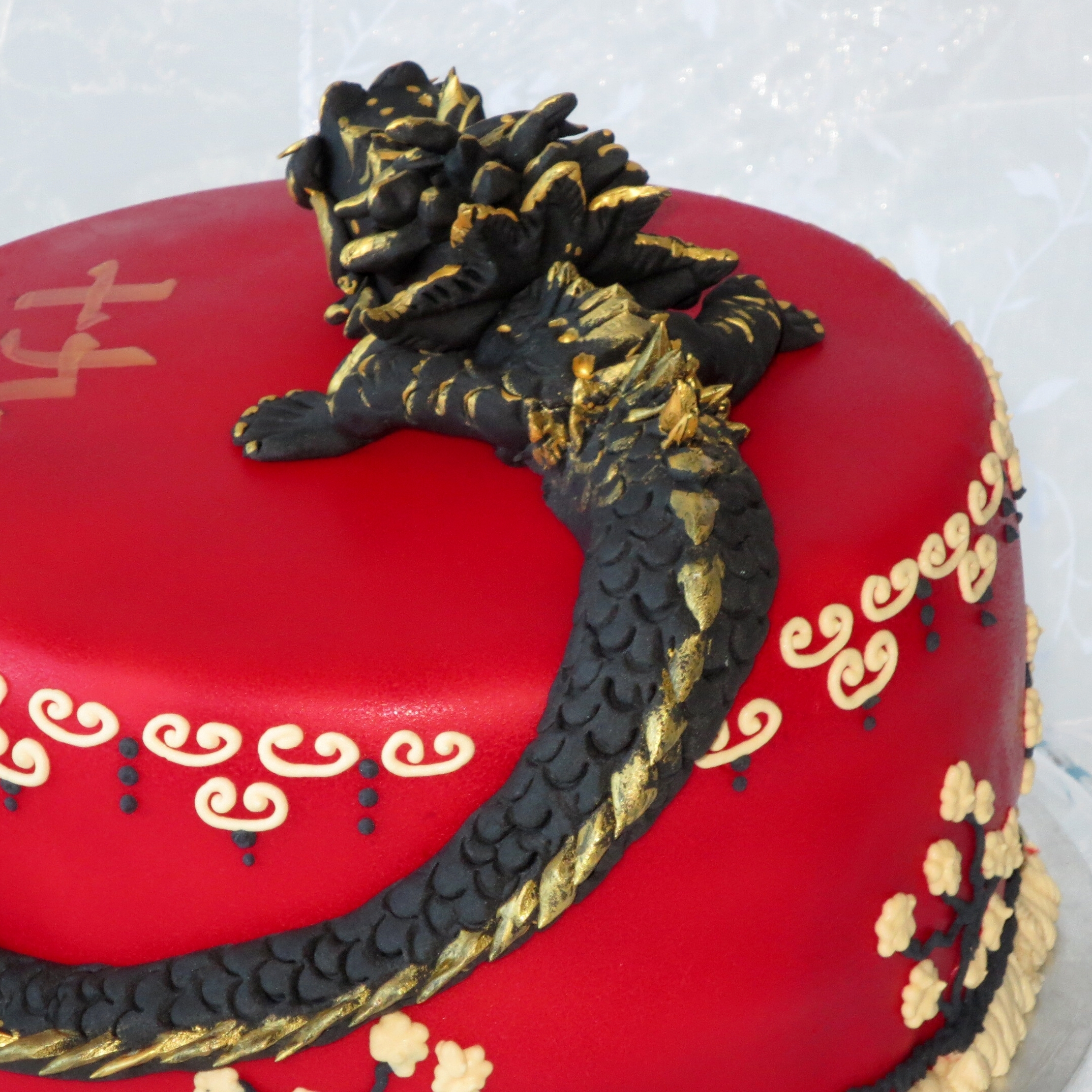 Chinese Dragon Birthday Cake Cakecentral Com