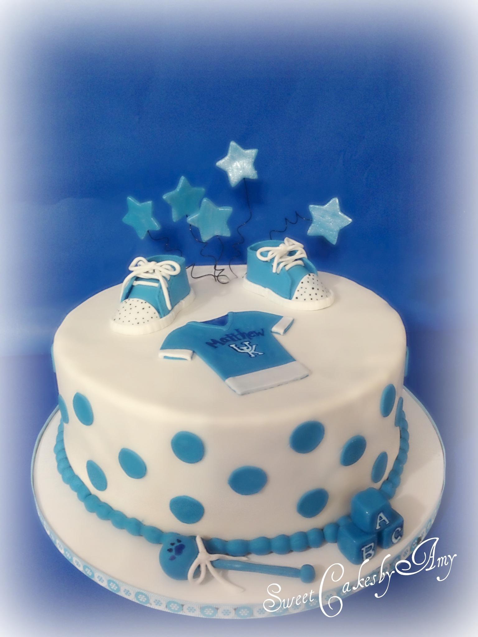 Baby Shower Cake Decorations Uk : Uk Baby Shower Cake - CakeCentral.com