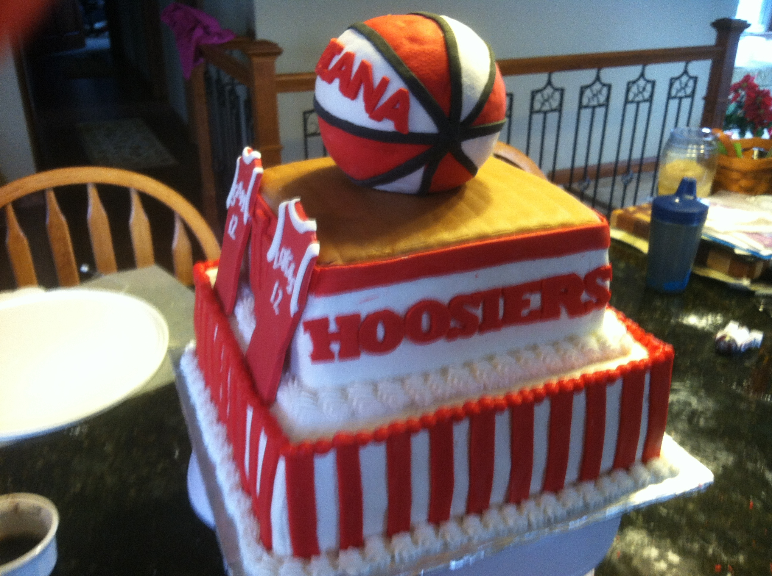 Indiana Hoosiers Basketball Cake Pictures