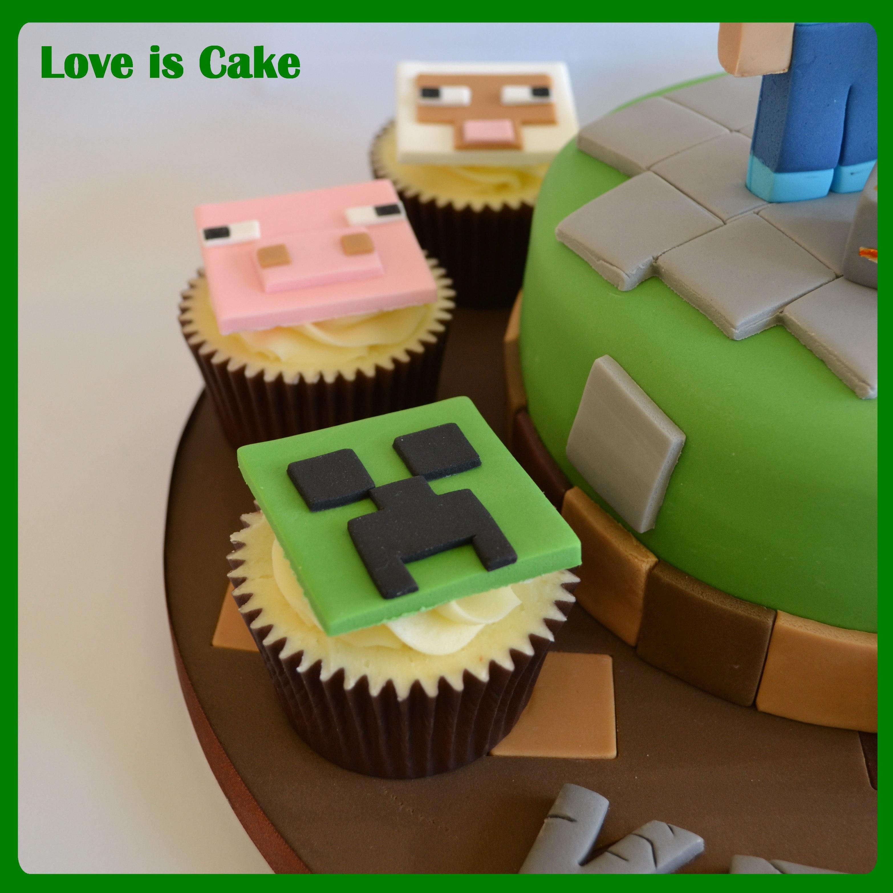 Creeper Cake Tutorial