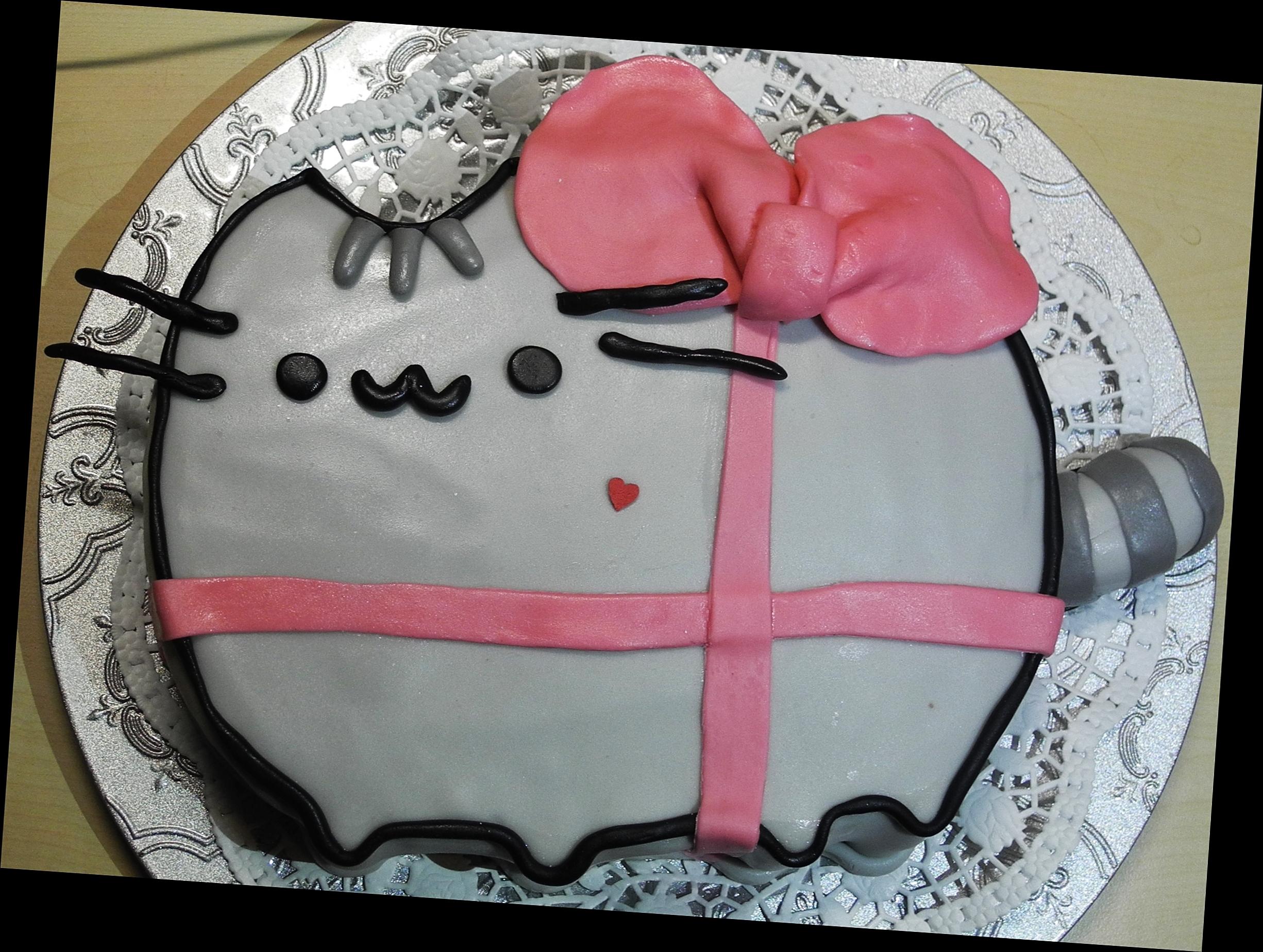 Pusheen Cat Cake Cakecentral Com