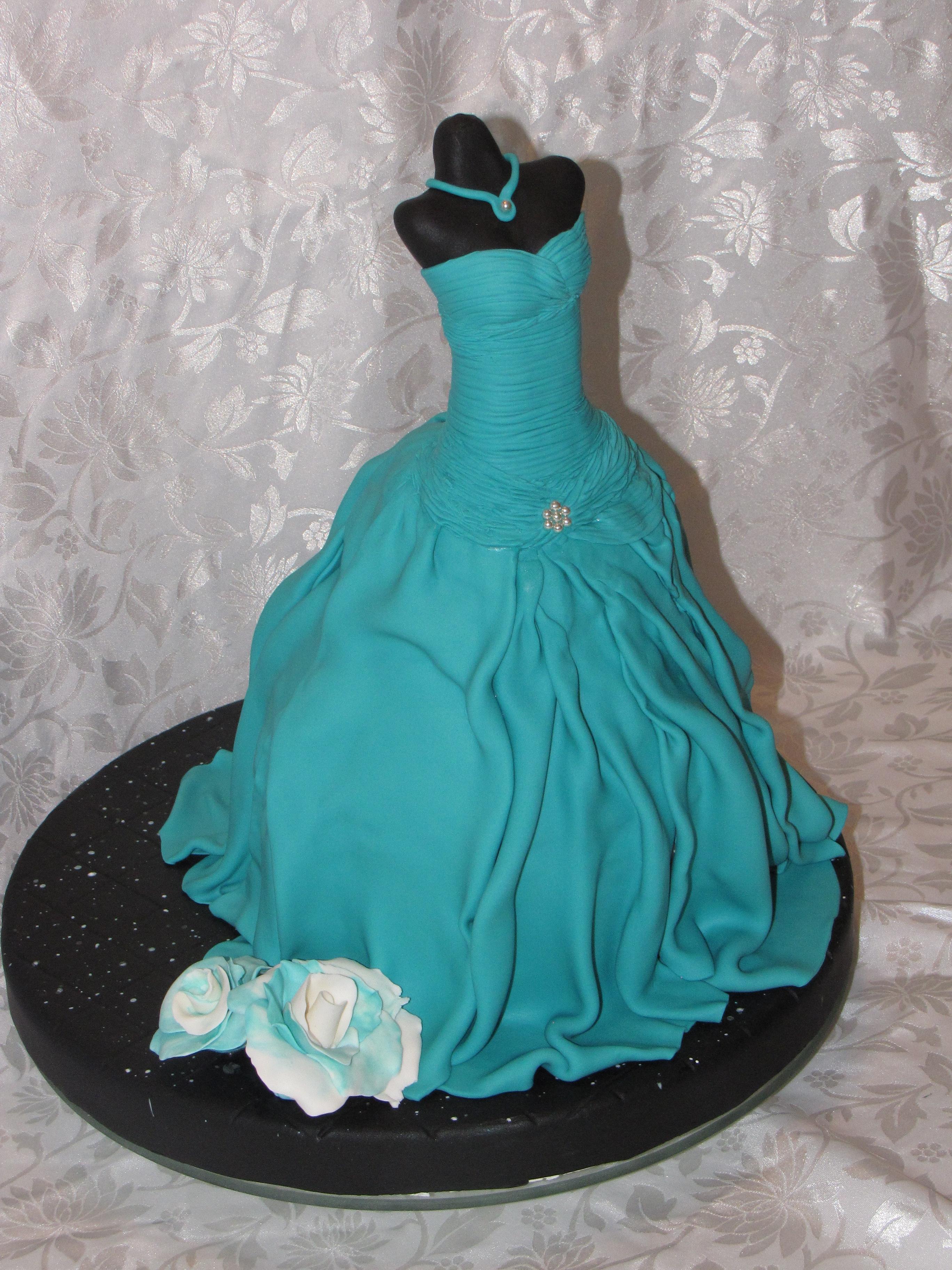 Mannequin Dress Cake Cakecentral Com