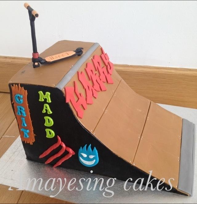 Skate Park Birthday Cake Ideas