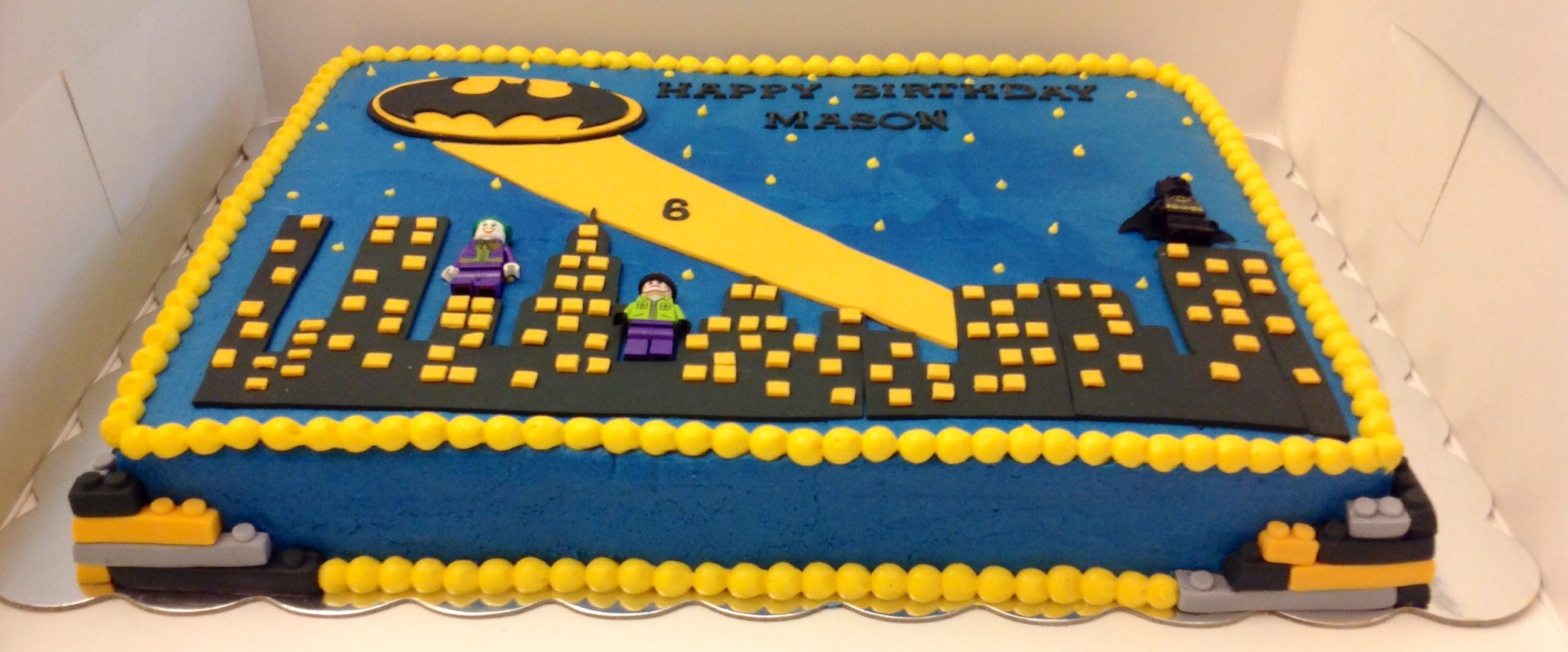 Batman Sheet Cakecentral Com