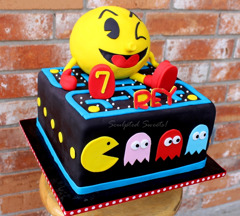 Cake Decorating Pac Man For The  S