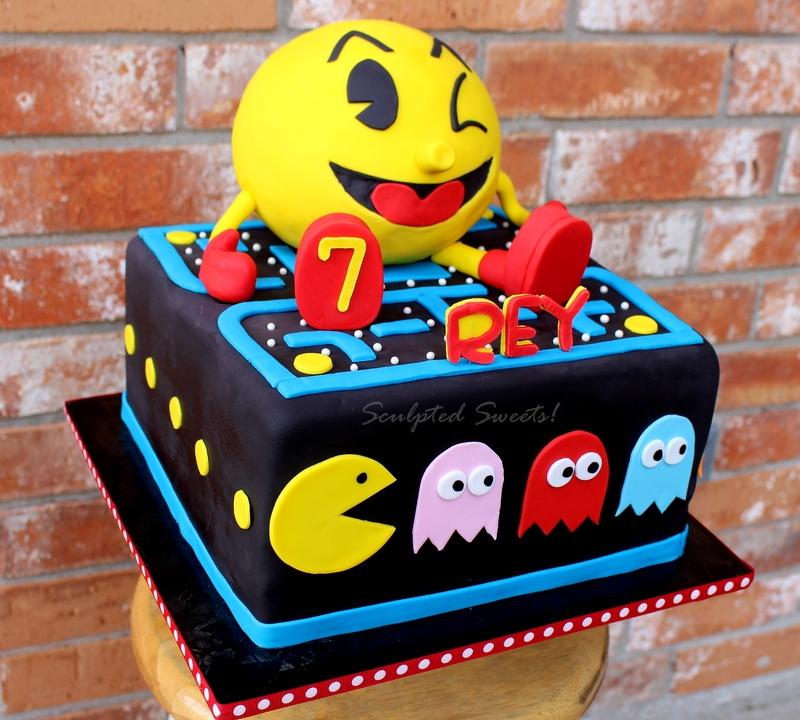 Pac Man Cakecentral Com
