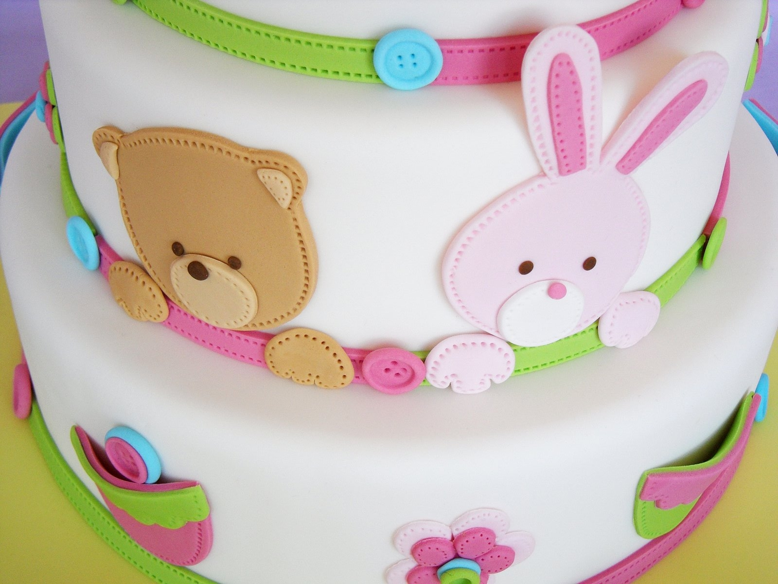 Cake Decorations Baby Shoes : Baby Shoes Cake - CakeCentral.com