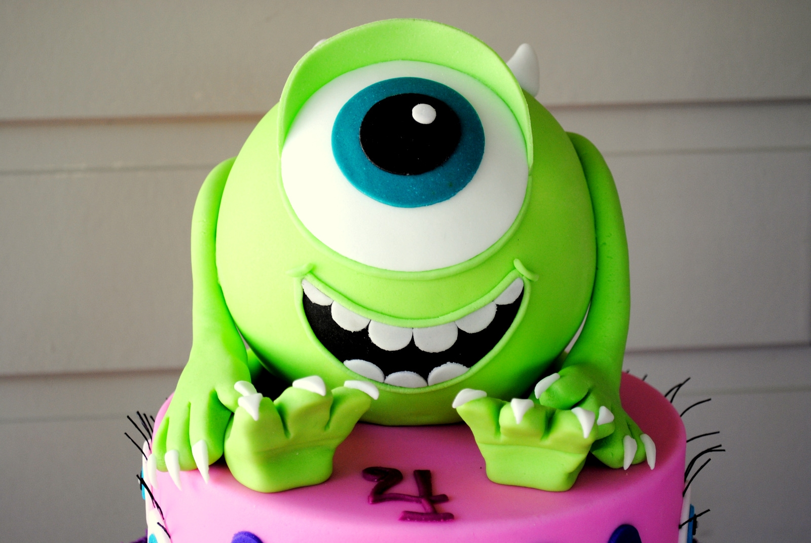 Pictures Of Monster Inc Cakes