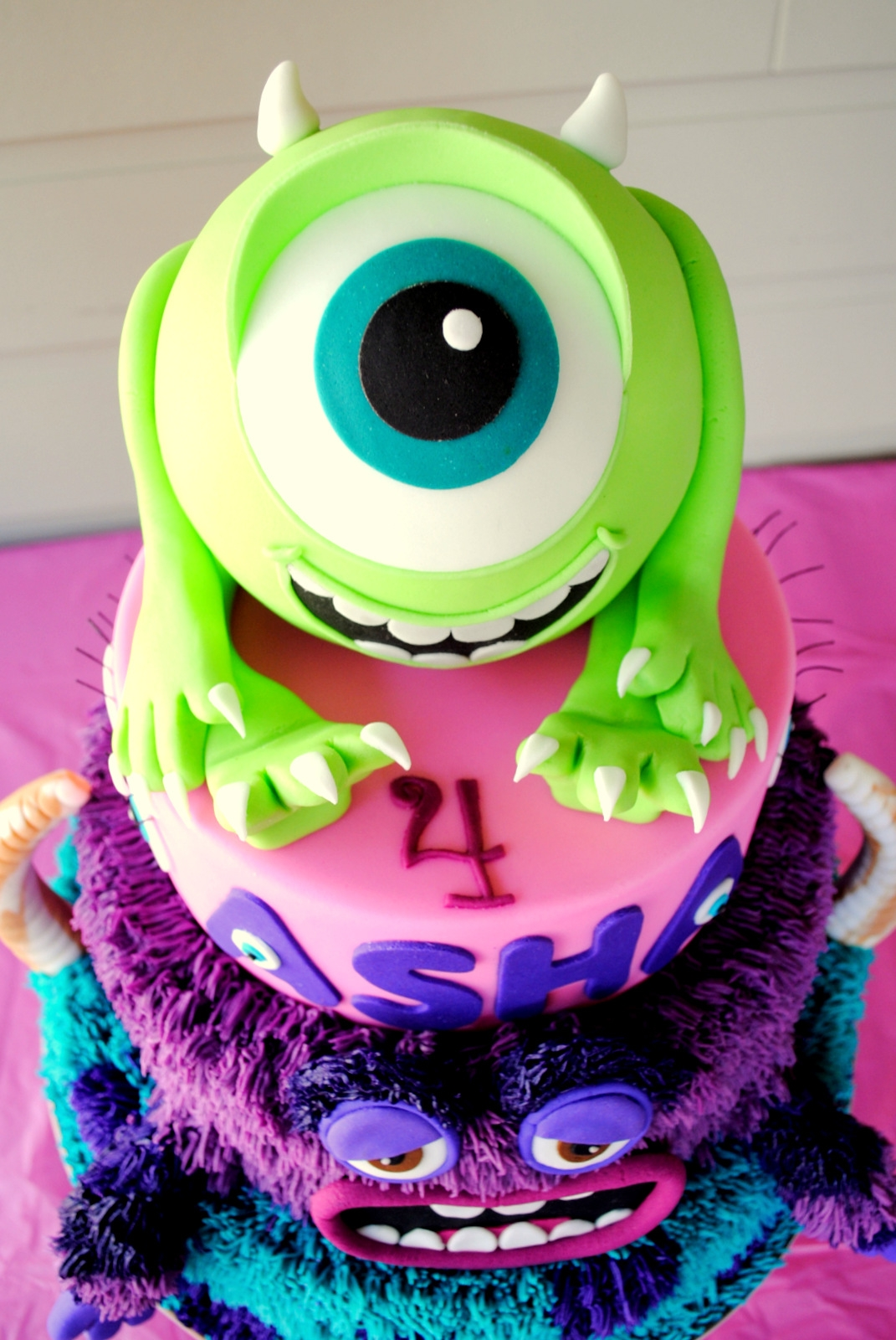 Monsters Inc Monsters University Cake Cakecentral Com