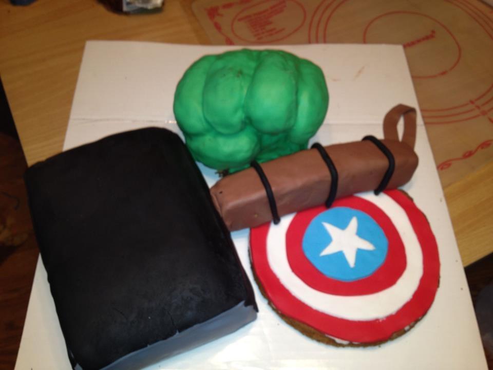 Girly 5 Year Old Birthday Cake