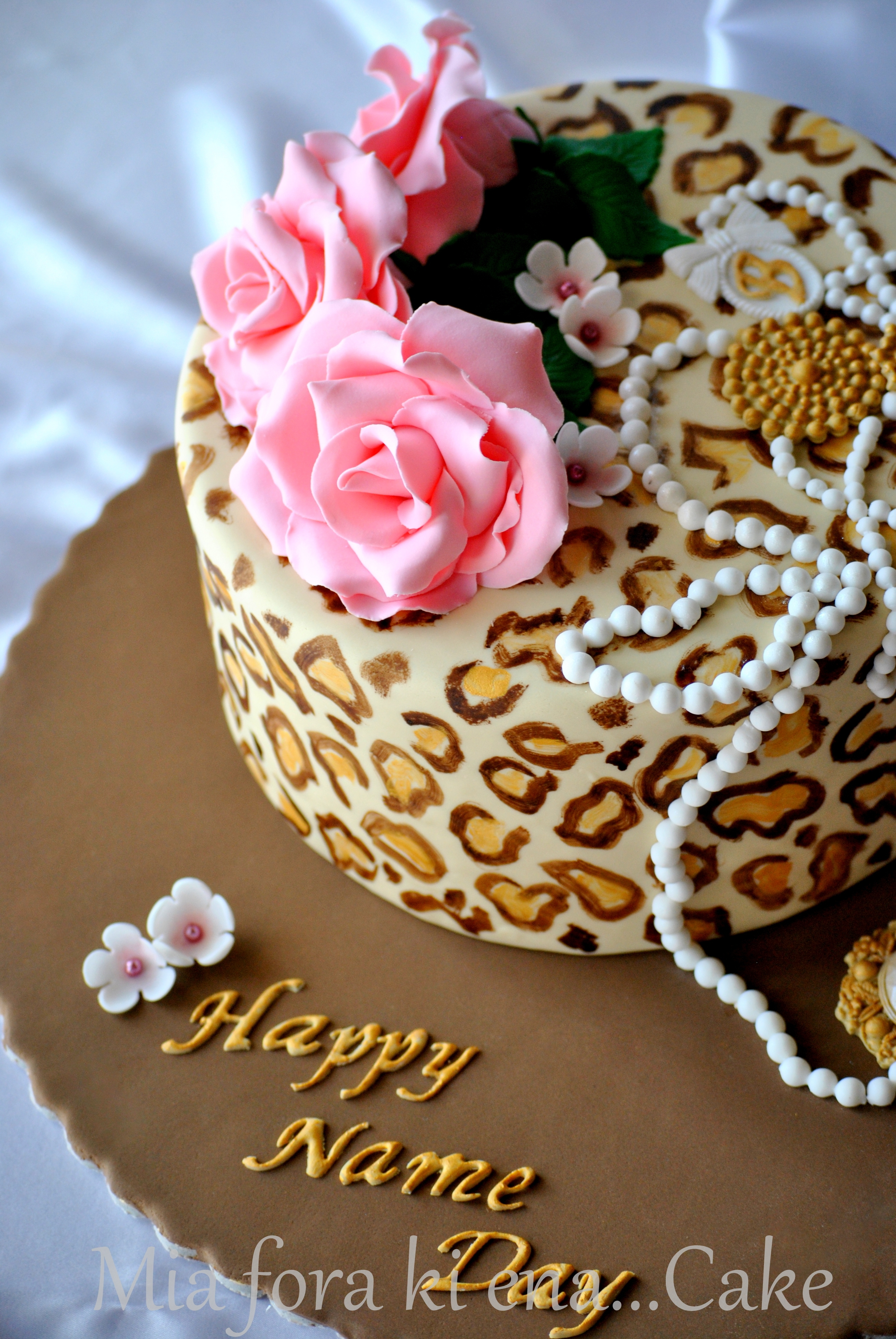 Happy Name Day Cake Cakecentral Com