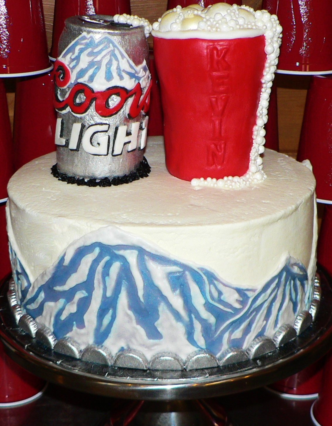 Coors Light Birthday Cake Cakecentral Com
