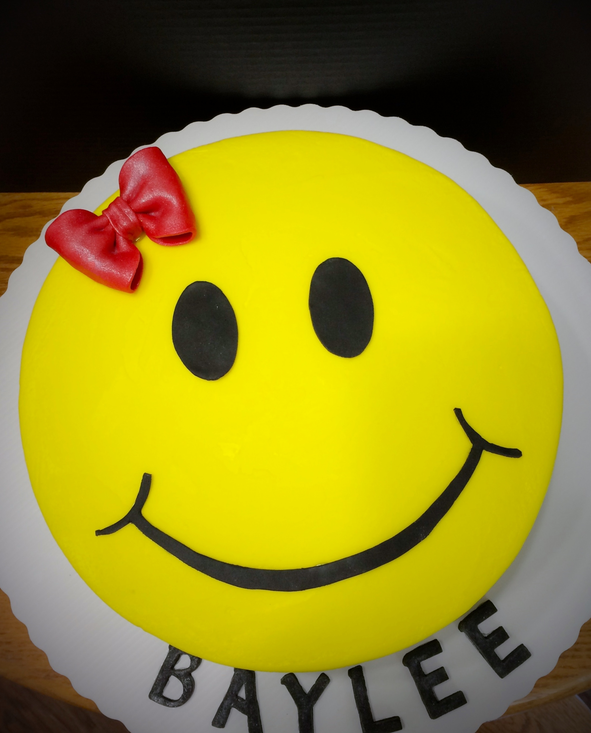 Images Cake In Face : Smiley Face Birthday Cake - CakeCentral.com