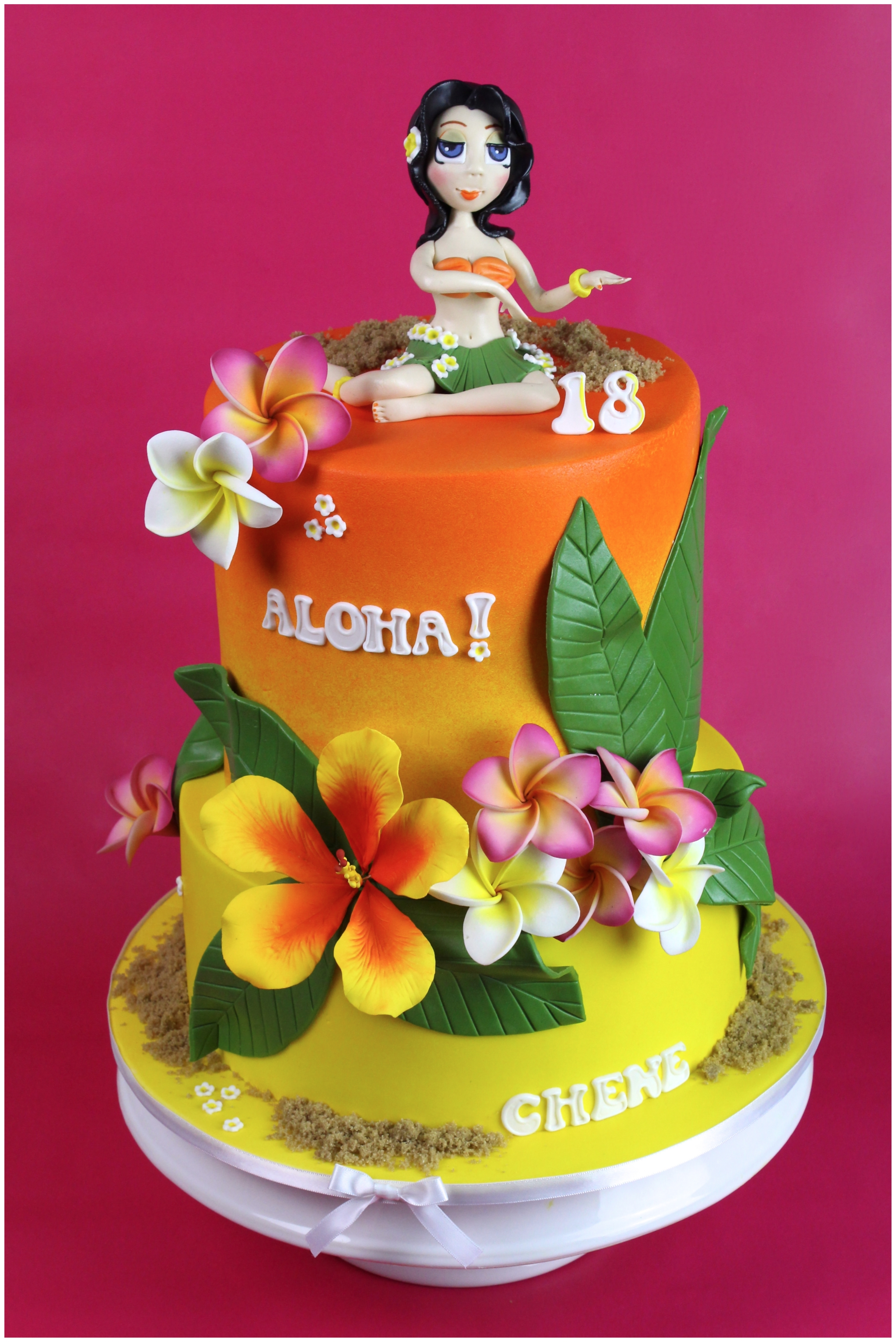 Hawaiian Birthday - CakeCentral.com