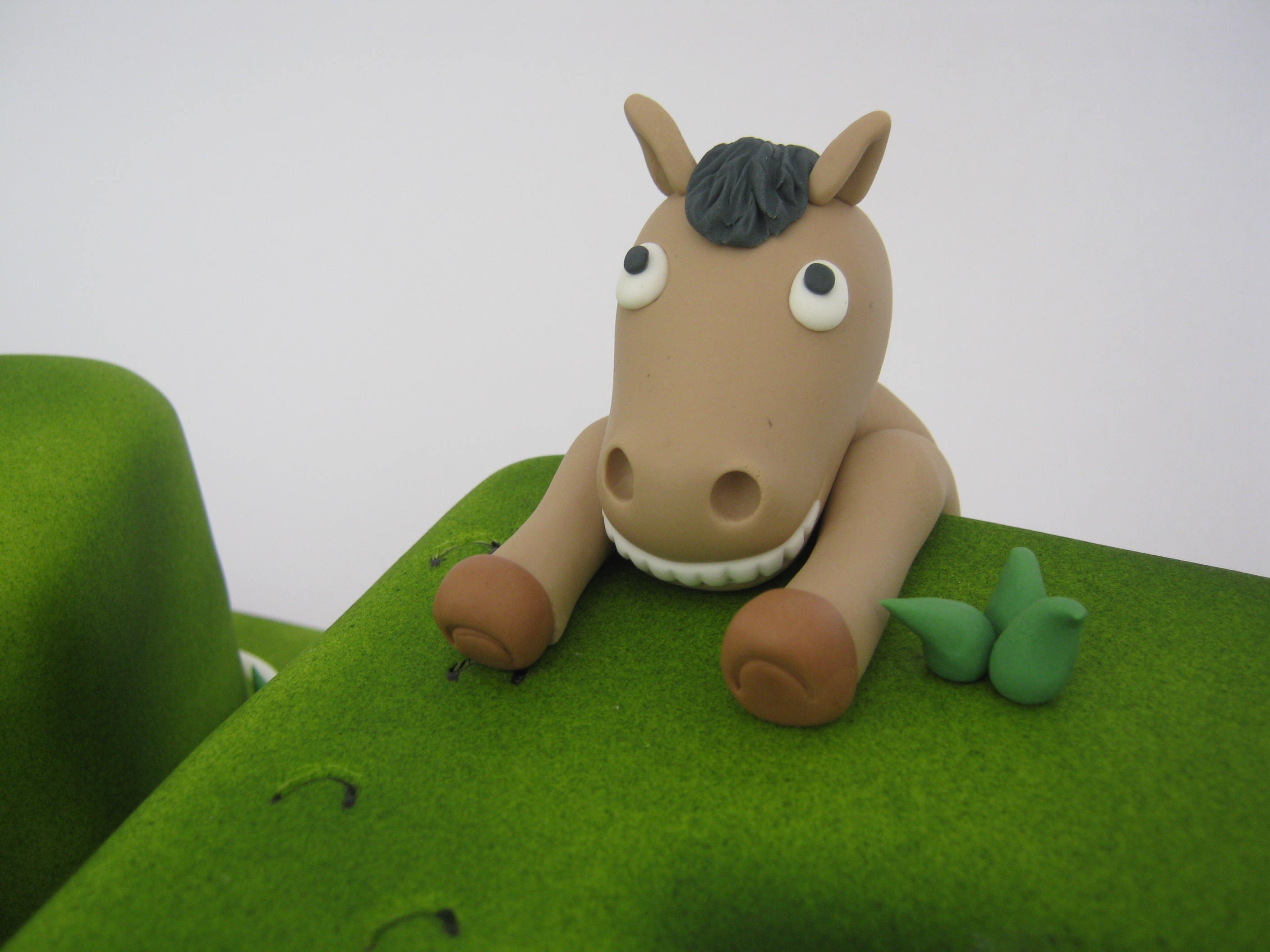 Horse Racing Cake Tutorial