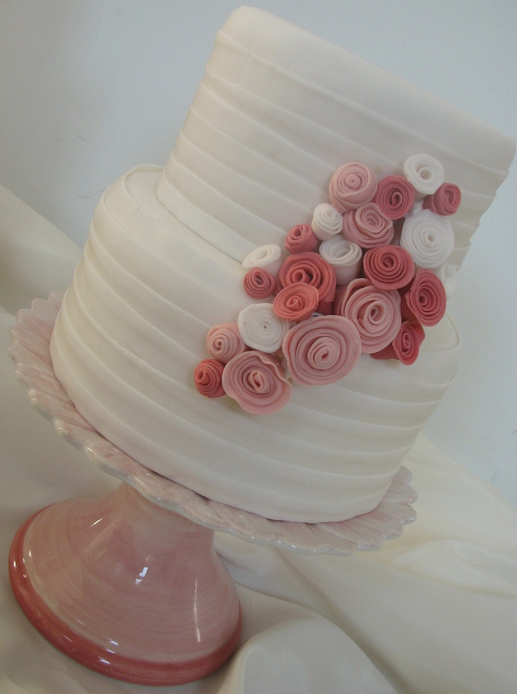 Rolled Buttercream Cakes