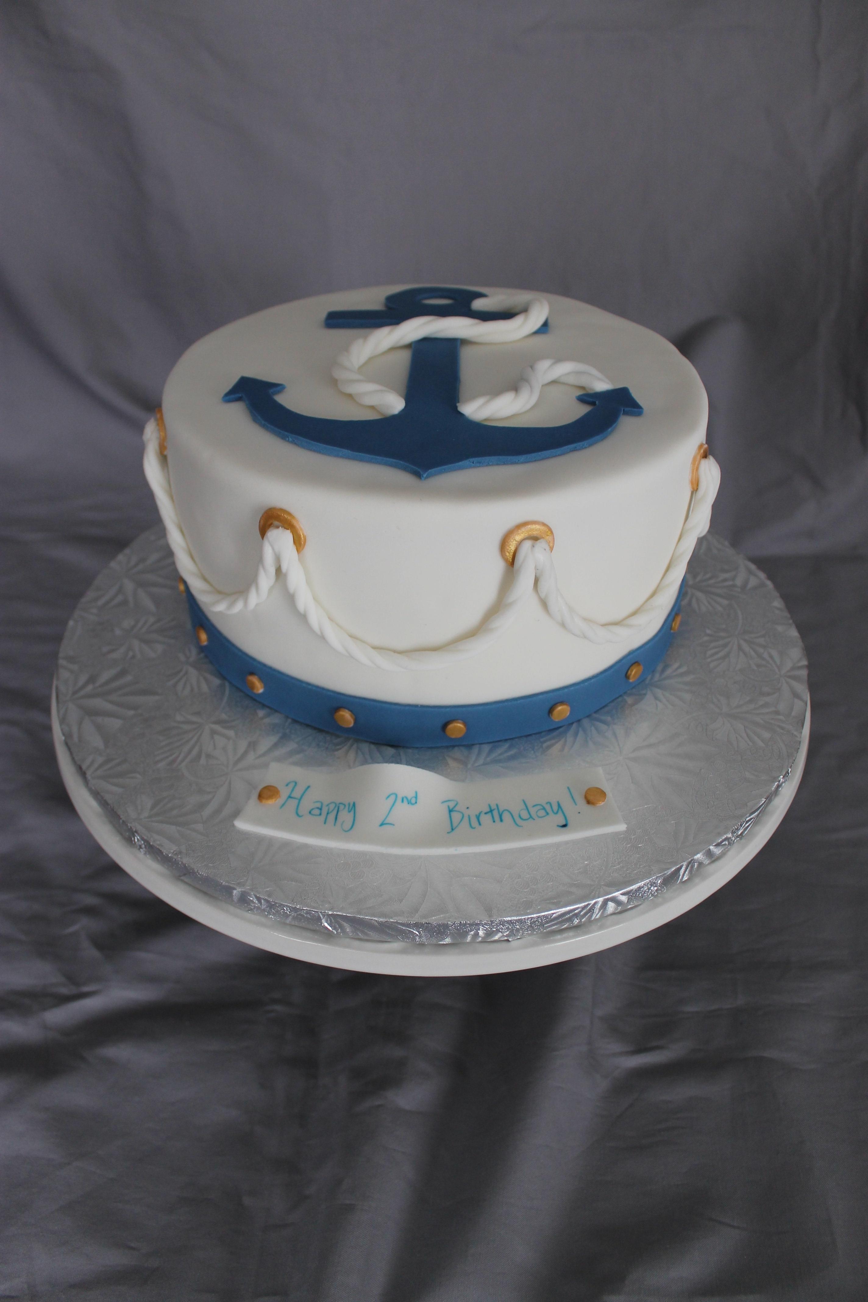 Nautical Cakes For Birthday
