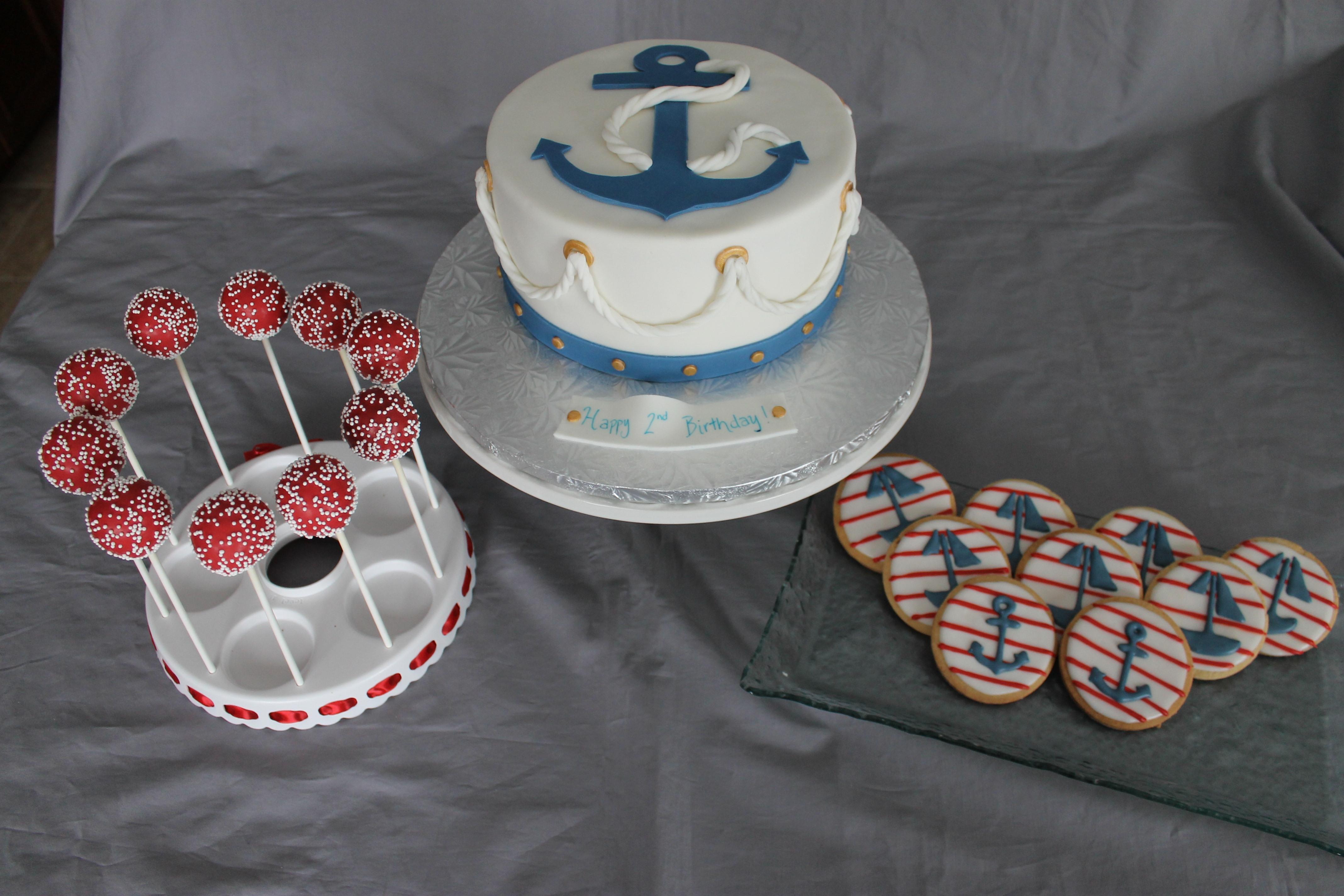 Nautical Themed Birthday Cake Cakecentral Com