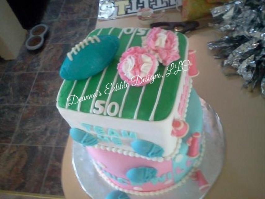 Gender Reveal Cake Central Coast