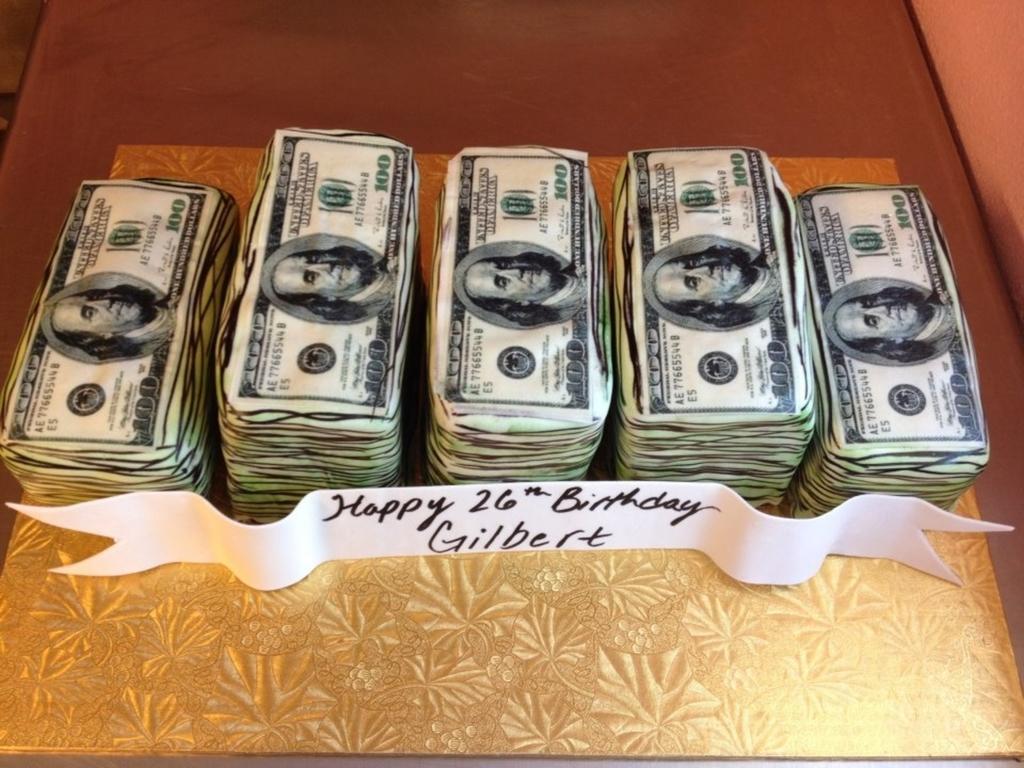 Money Cake CakeCentralcom