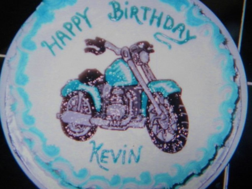 Magnificent Motorcycle Birthday Cake Cakecentral Com Funny Birthday Cards Online Alyptdamsfinfo