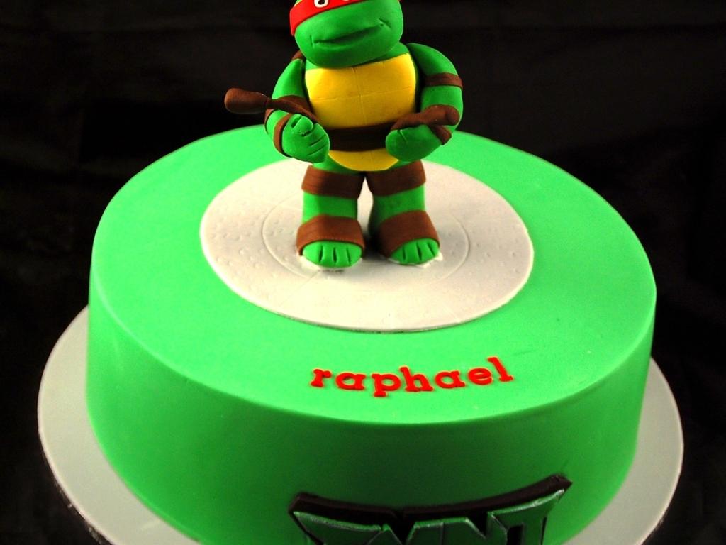 Outstanding Tmnt Teenage Mutant Ninja Turtles Cake Cakecentral Com Funny Birthday Cards Online Bapapcheapnameinfo