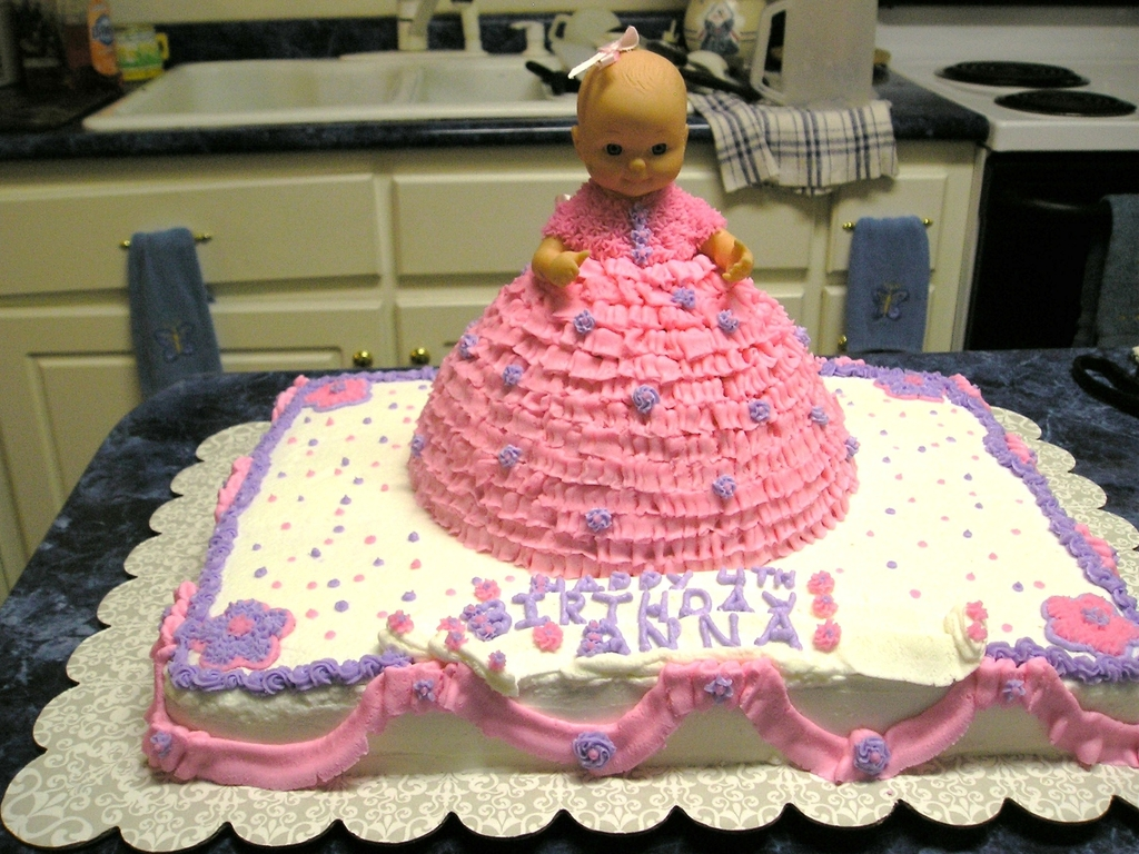 Baby Doll Birthday Cake Cakecentral Com