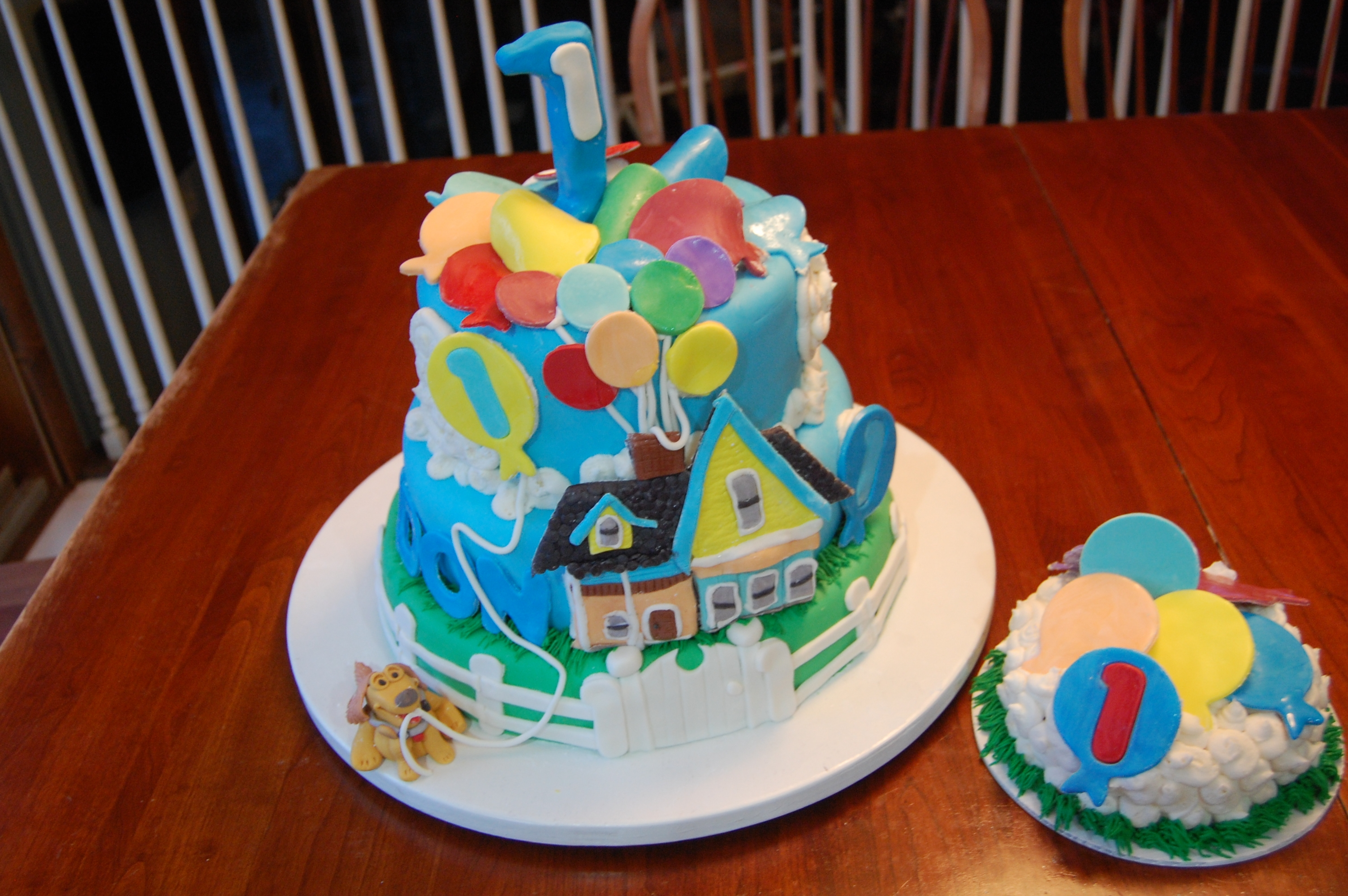 Disney Up For First Birthday Cakecentral