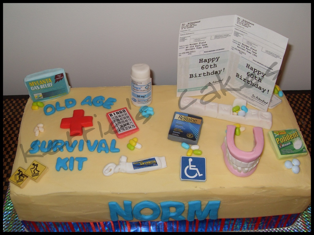 Old Age Survival Kit Cakecentral