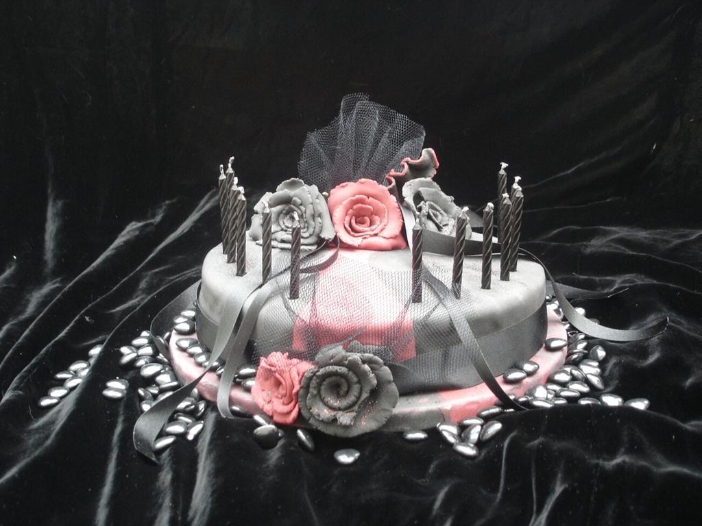 Goth Birthday Cake Cakecentral