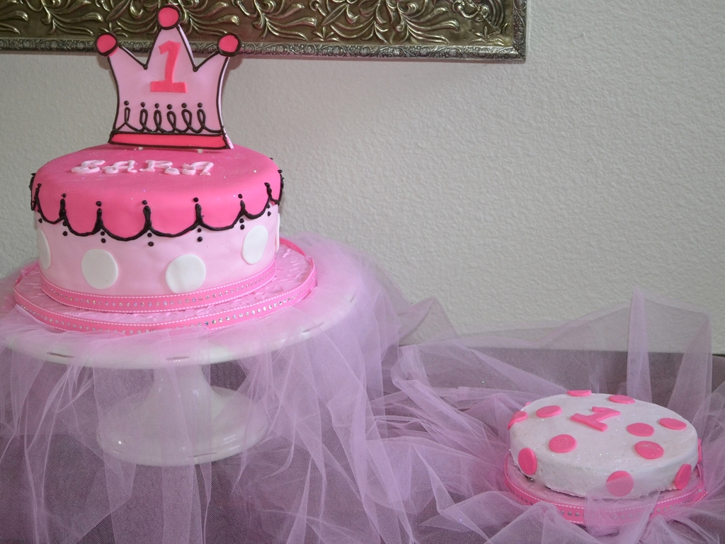 Little Princess Birthday Cake