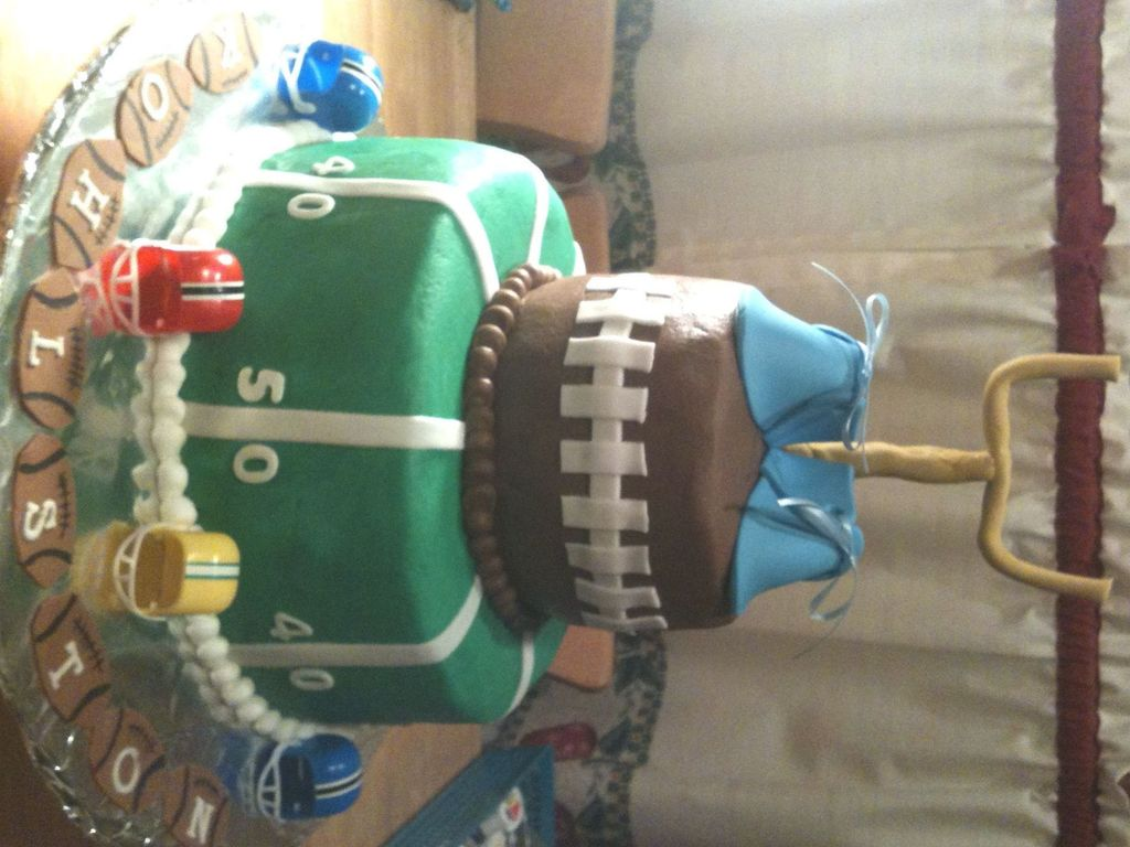 Baby Shower Cake Football Theme Cakecentral