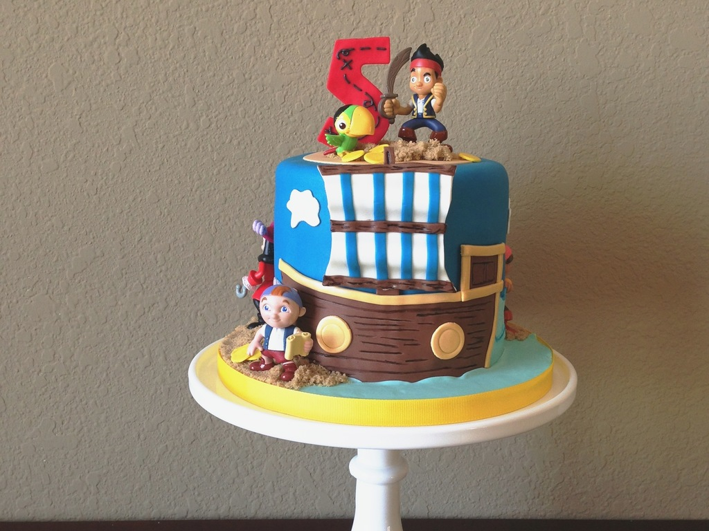 Astonishing Jake And The Neverland Pirates Birthday Cake Cakecentral Com Funny Birthday Cards Online Inifodamsfinfo
