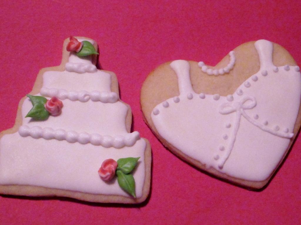 Wedding Favor Cookies - CakeCentral.com