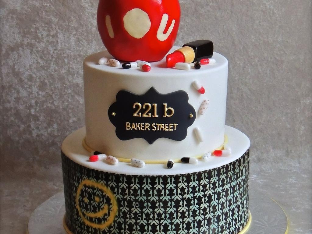 Sherlock Holmes Series Birthday Cakecentral