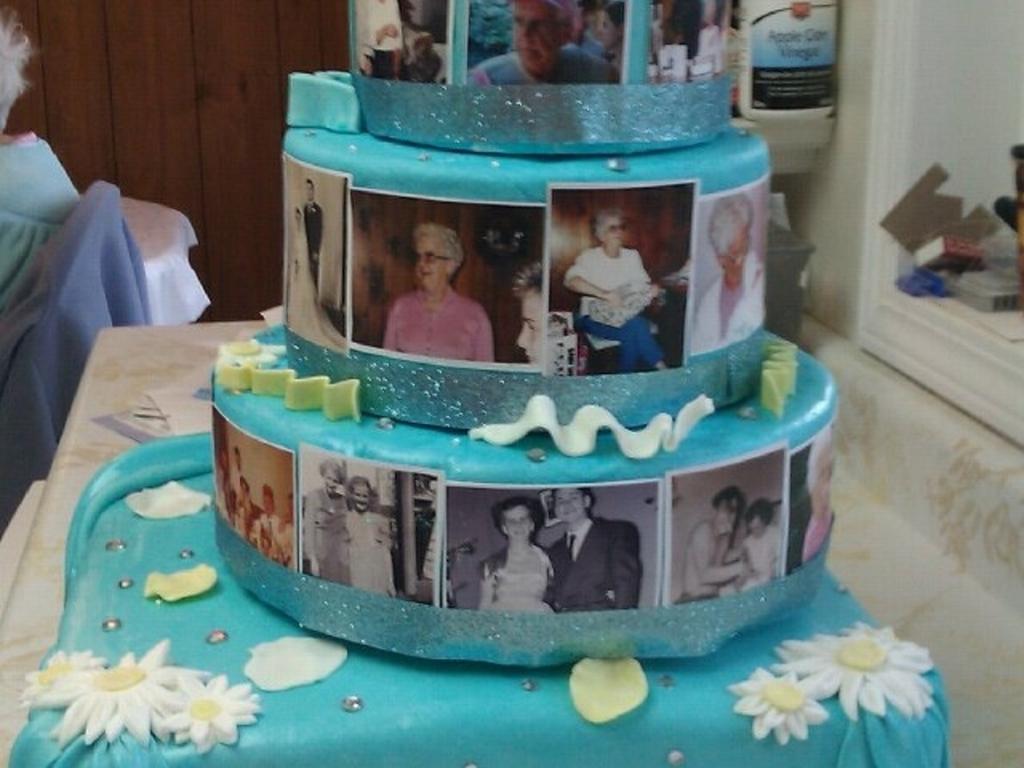 Moms 80Th Birthday Cake